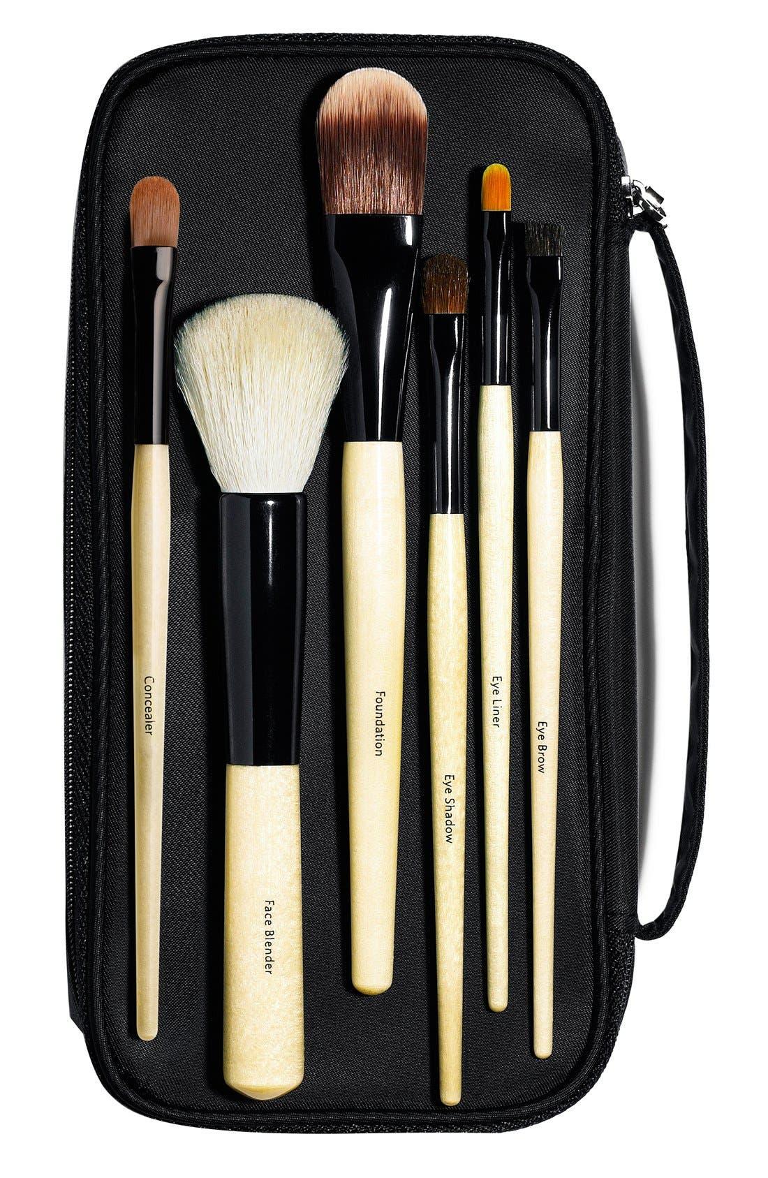 BOBBI BROWN, Basic Brush Collection, Main thumbnail 1, color, 000