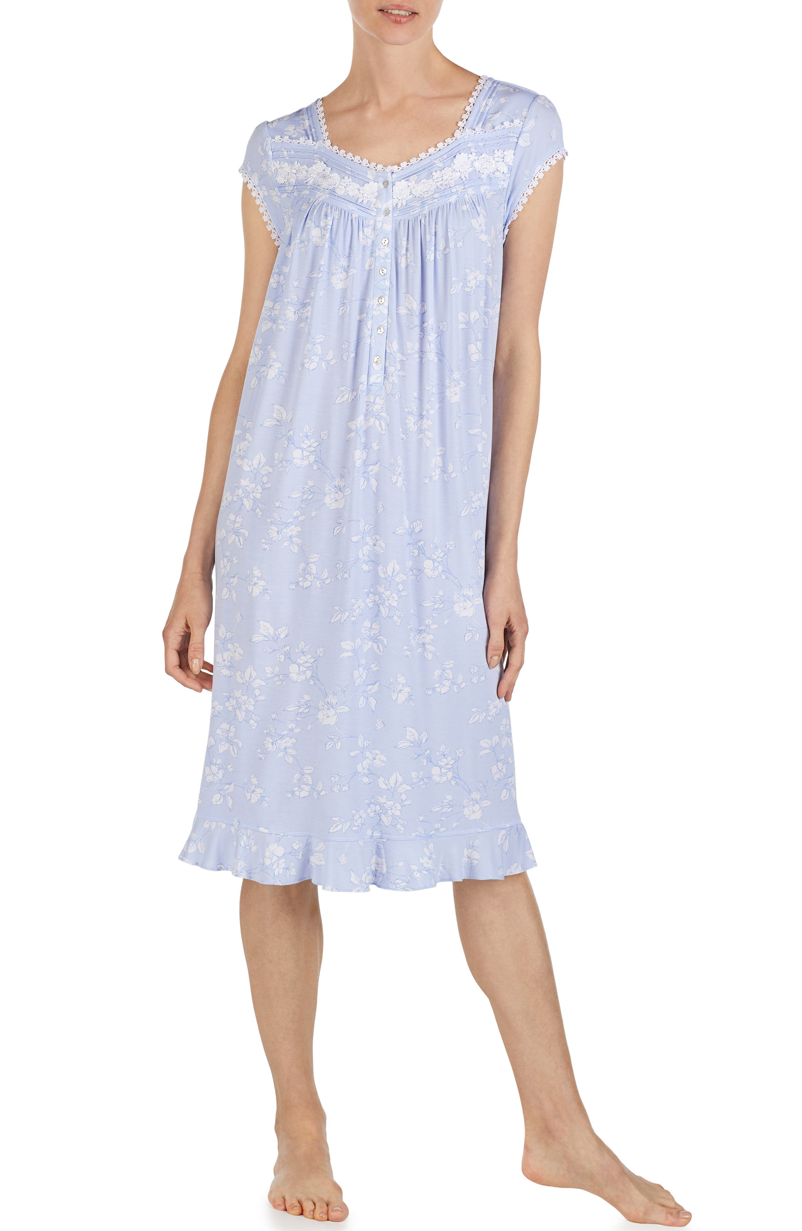 EILEEN WEST, Waltz Nightgown, Main thumbnail 1, color, PERI GROUND
