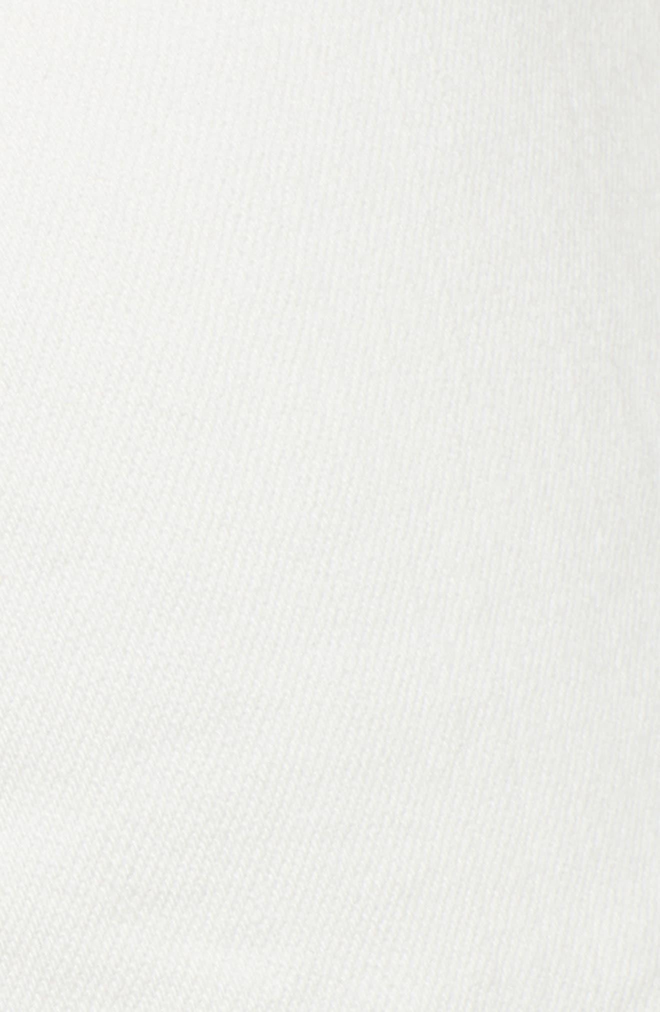AG, The Ex-Boyfriend Crop Slim Jeans, Alternate thumbnail 6, color, 01Y TONAL WHITE