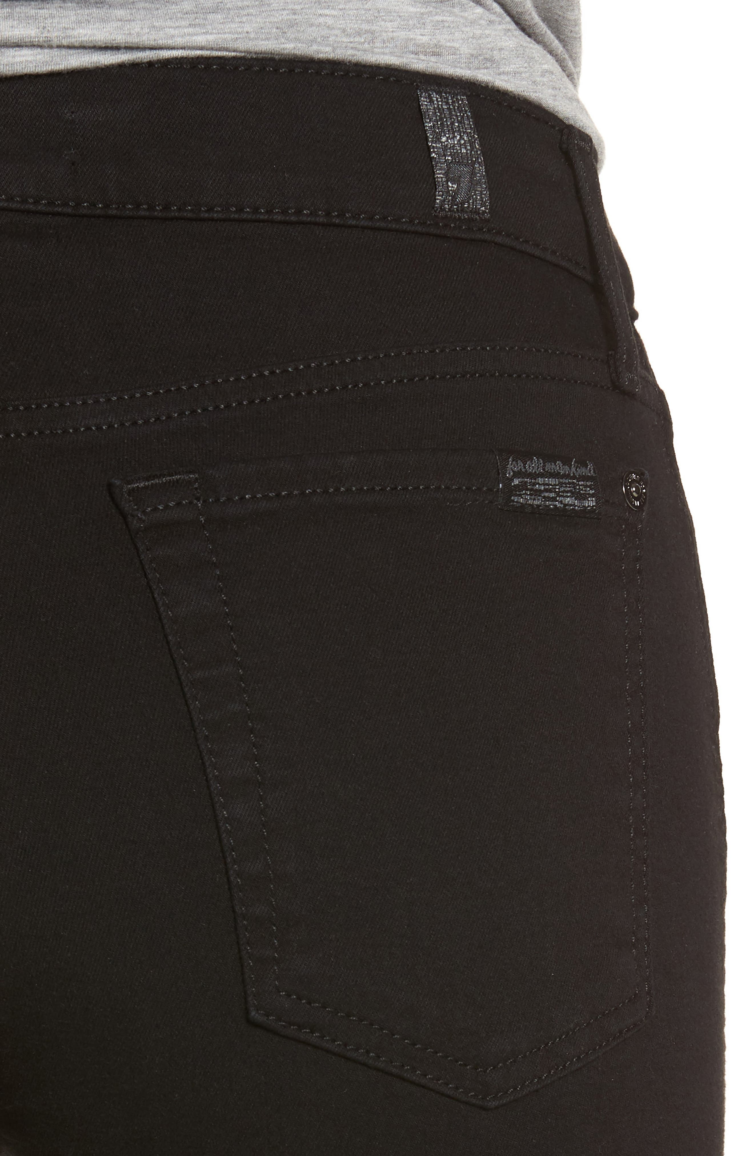 7 FOR ALL MANKIND<SUP>®</SUP>, b(air) Crop Bootcut Jeans, Alternate thumbnail 4, color, 004