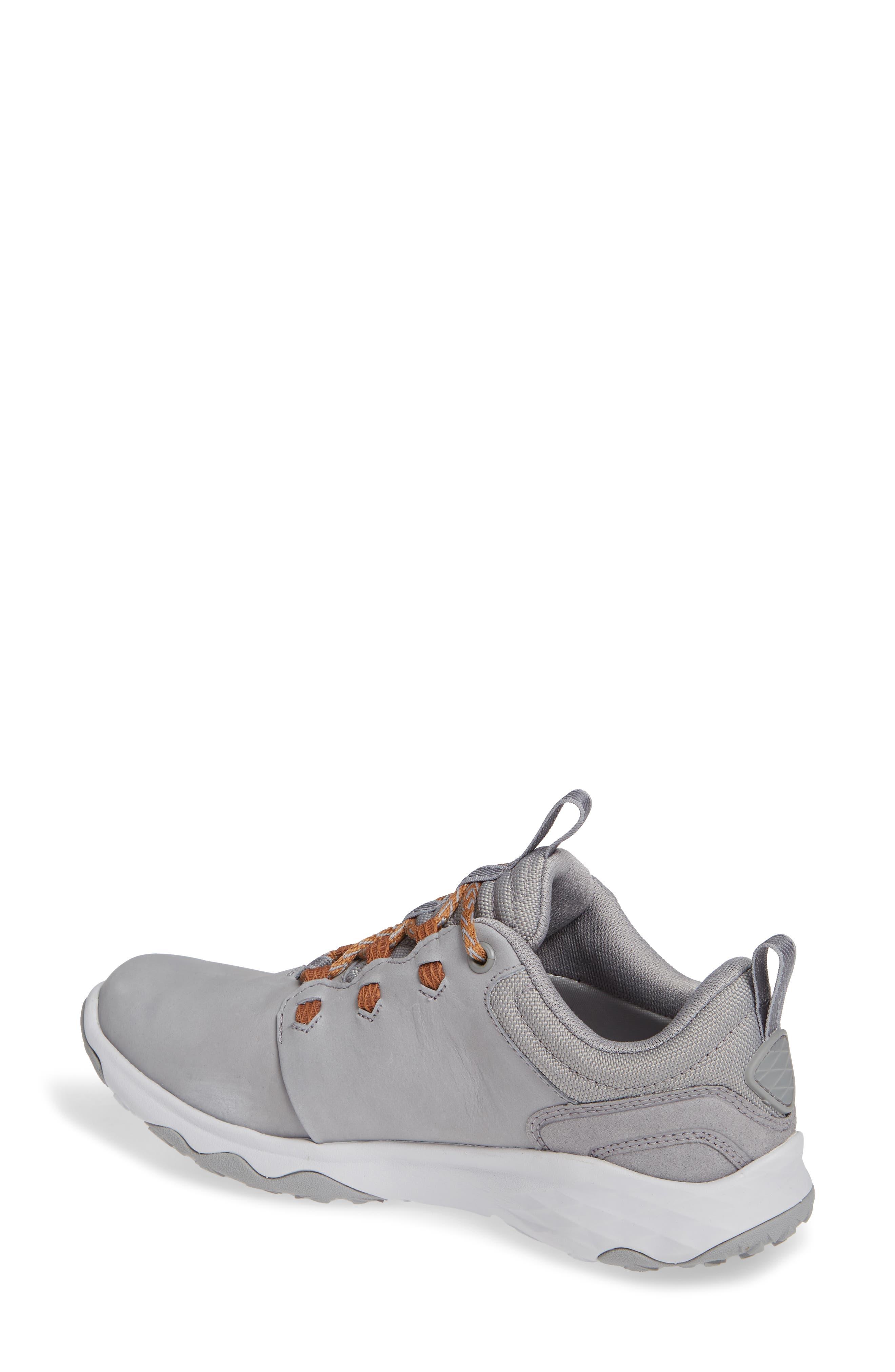 TEVA, 'Arrowood' Waterproof Sneaker, Alternate thumbnail 2, color, WILD DOVE LEATHER