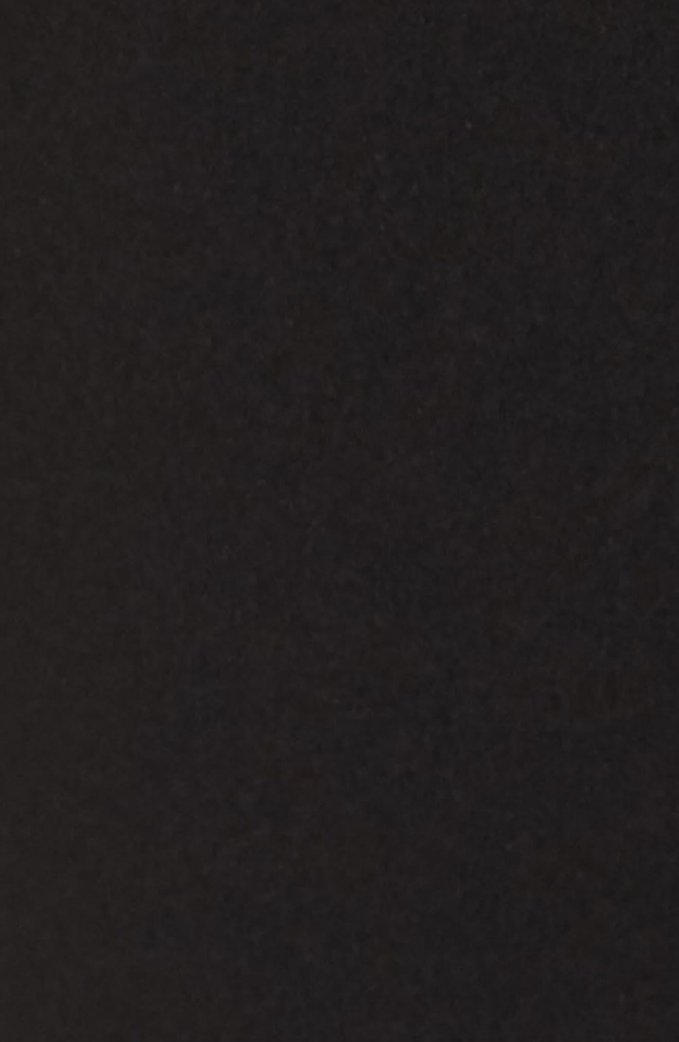 ELIZA J, Cross Front Halter Jumpsuit, Alternate thumbnail 6, color, 001