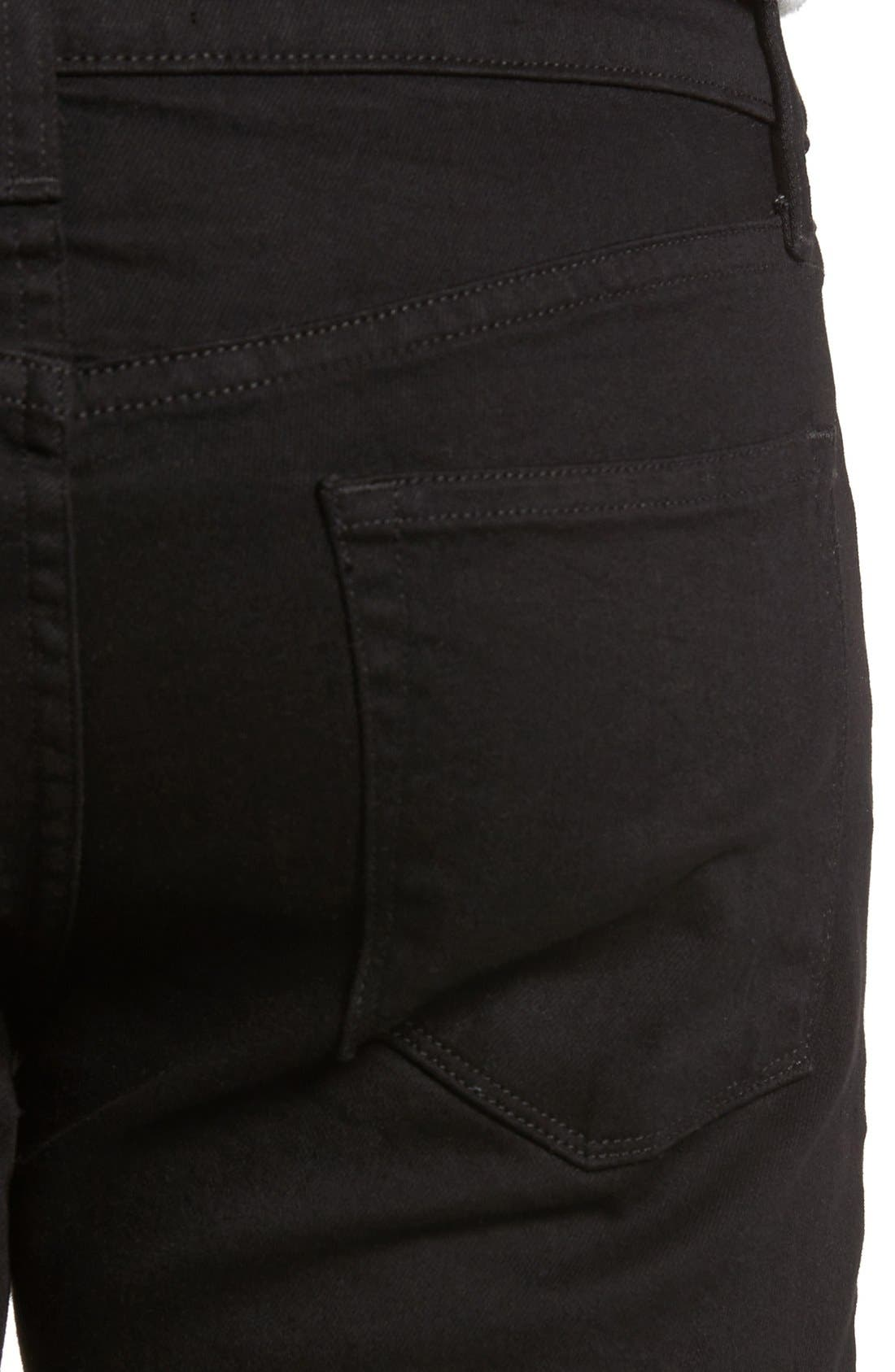 J BRAND, Tyler Slim Fit Jeans, Alternate thumbnail 7, color, TRIVOR BLACK