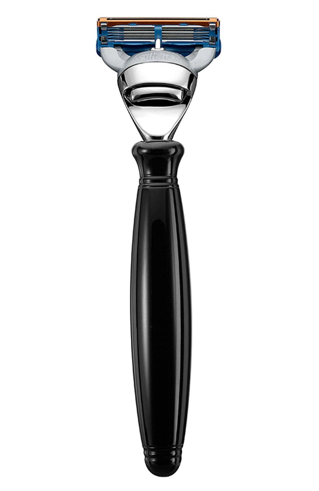THE ART OF SHAVING  Fusion<sup>™</sup> Black Nickel Razor, Main, color, 000