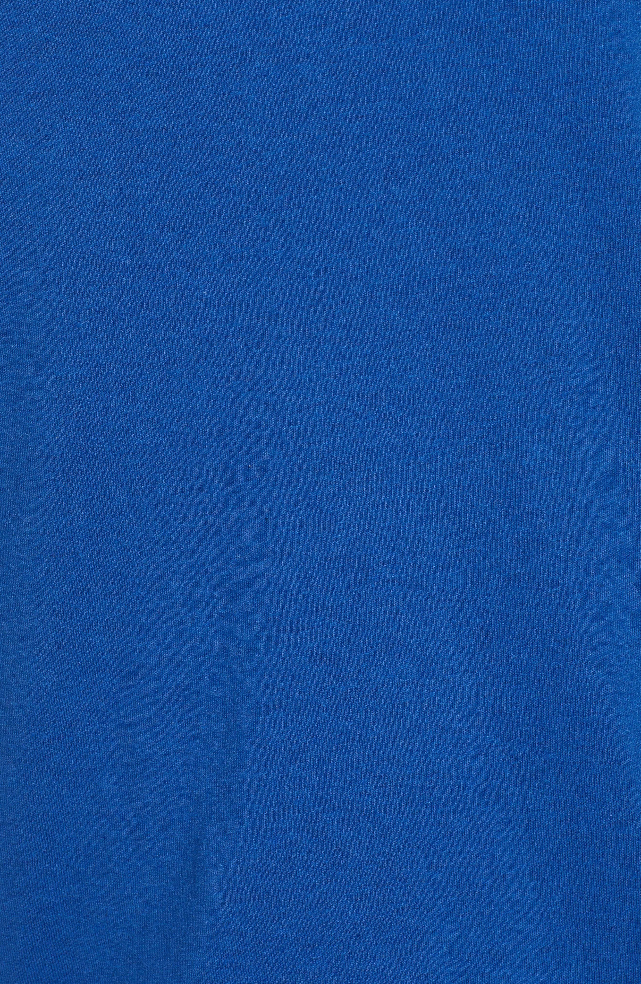 BP., V-Neck Tee, Alternate thumbnail 5, color, BLUE MONACO