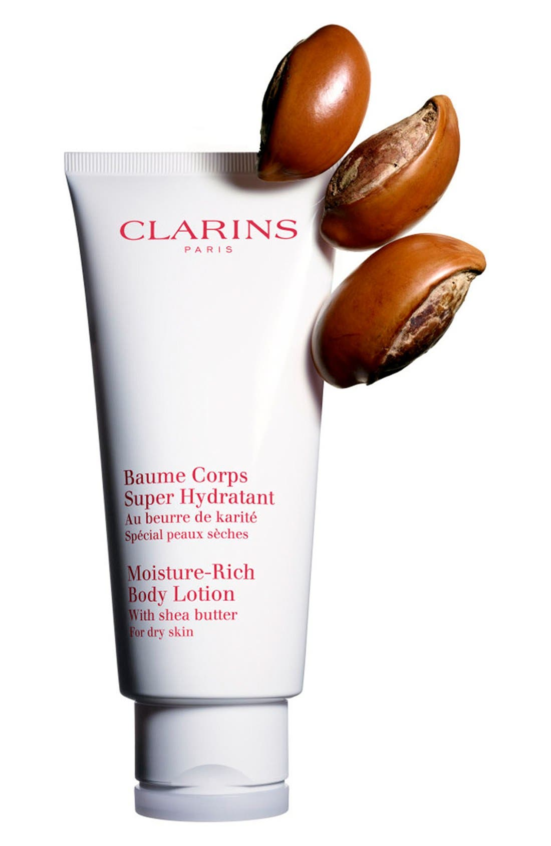 CLARINS, Moisture-Rich Body Lotion, Alternate thumbnail 2, color, NO COLOR