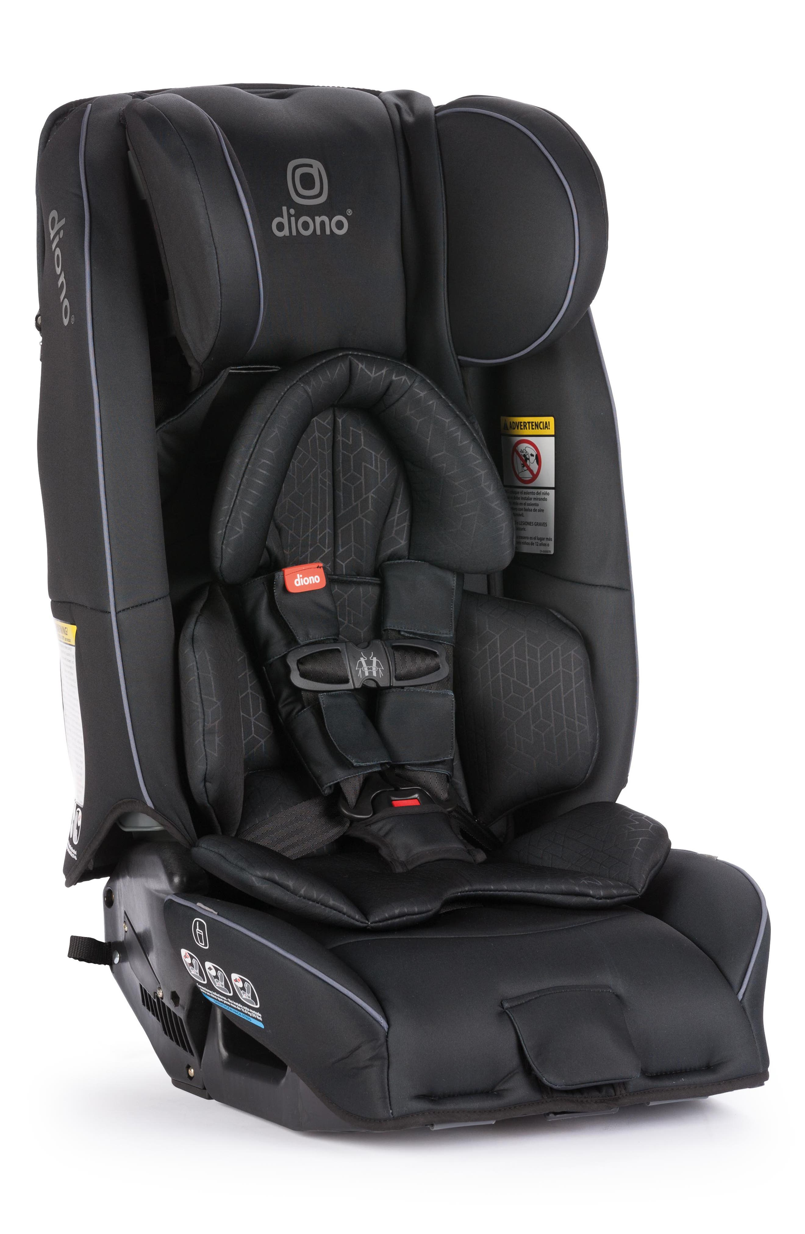 DIONO, radian<sup>®</sup> 3 rXT Rear & Forward Facing Car Seat, Alternate thumbnail 6, color, BLACK