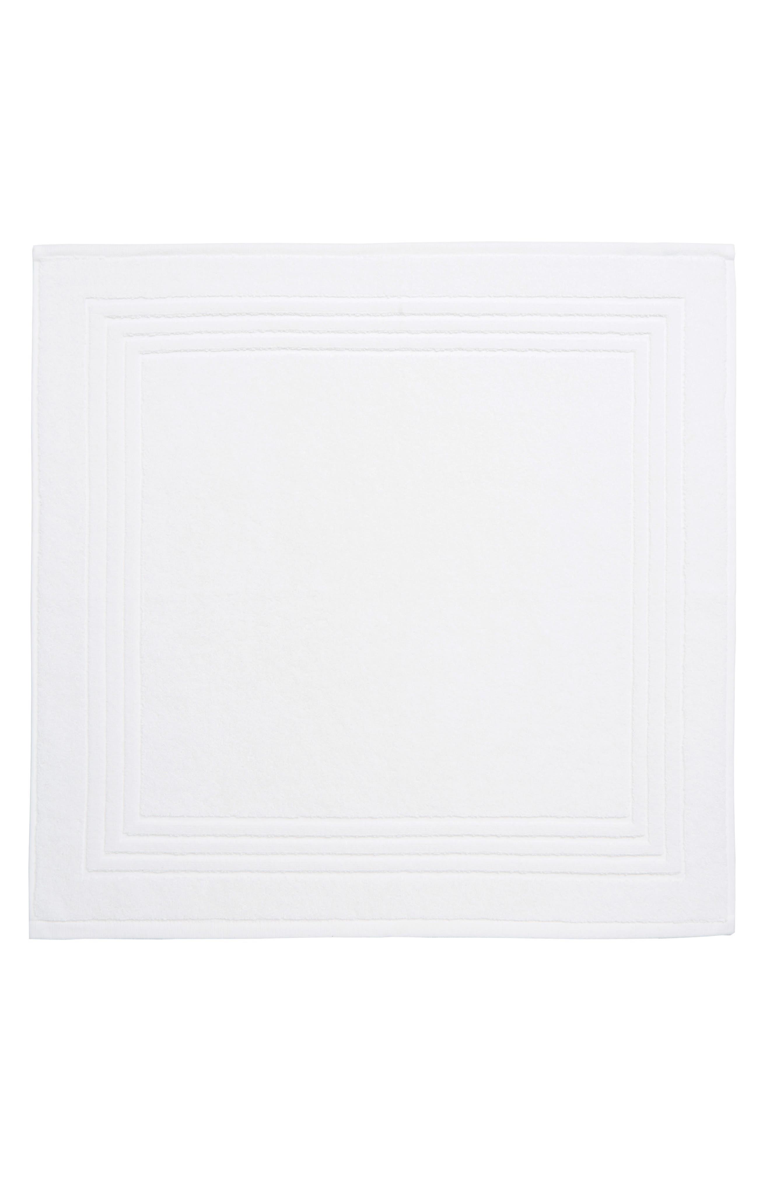 The White Company Egyptian Cotton Bath Mat Size One Size  White