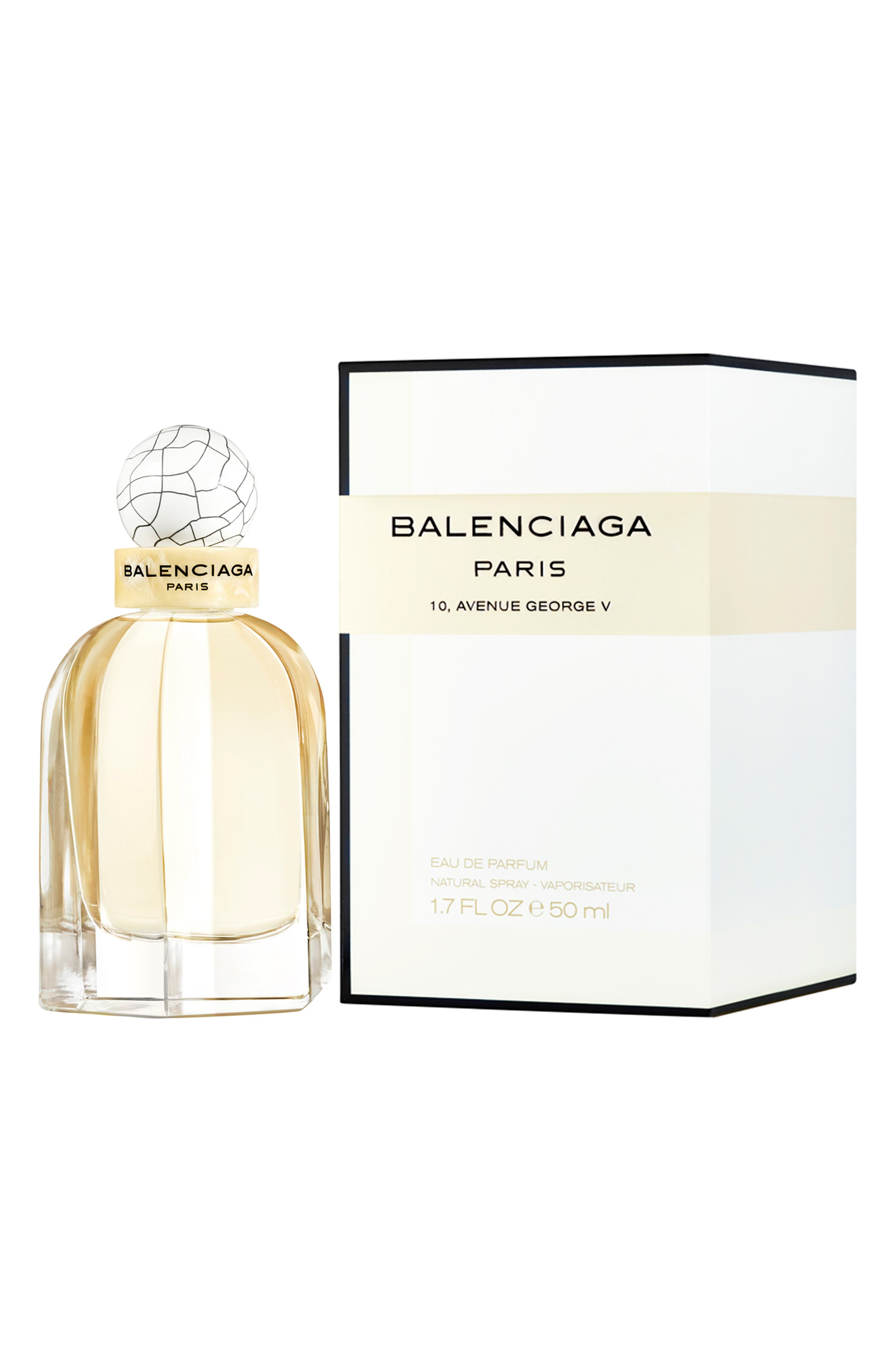 BALENCIAGA, Paris Eau de Parfum, Alternate thumbnail 4, color, NO COLOR