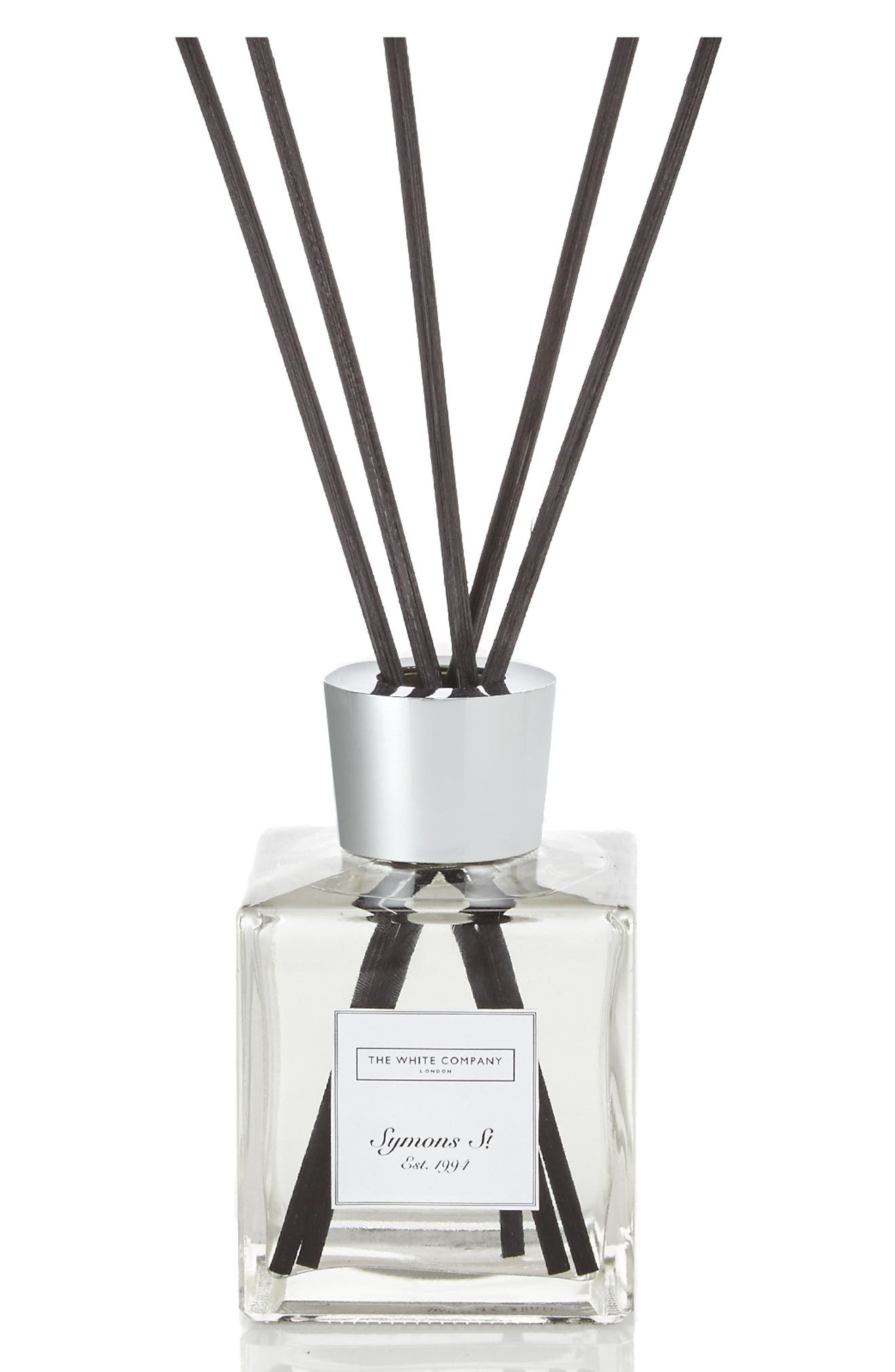 THE WHITE COMPANY, No. 155 Home Fragrance Diffuser, Main thumbnail 1, color, WHITE
