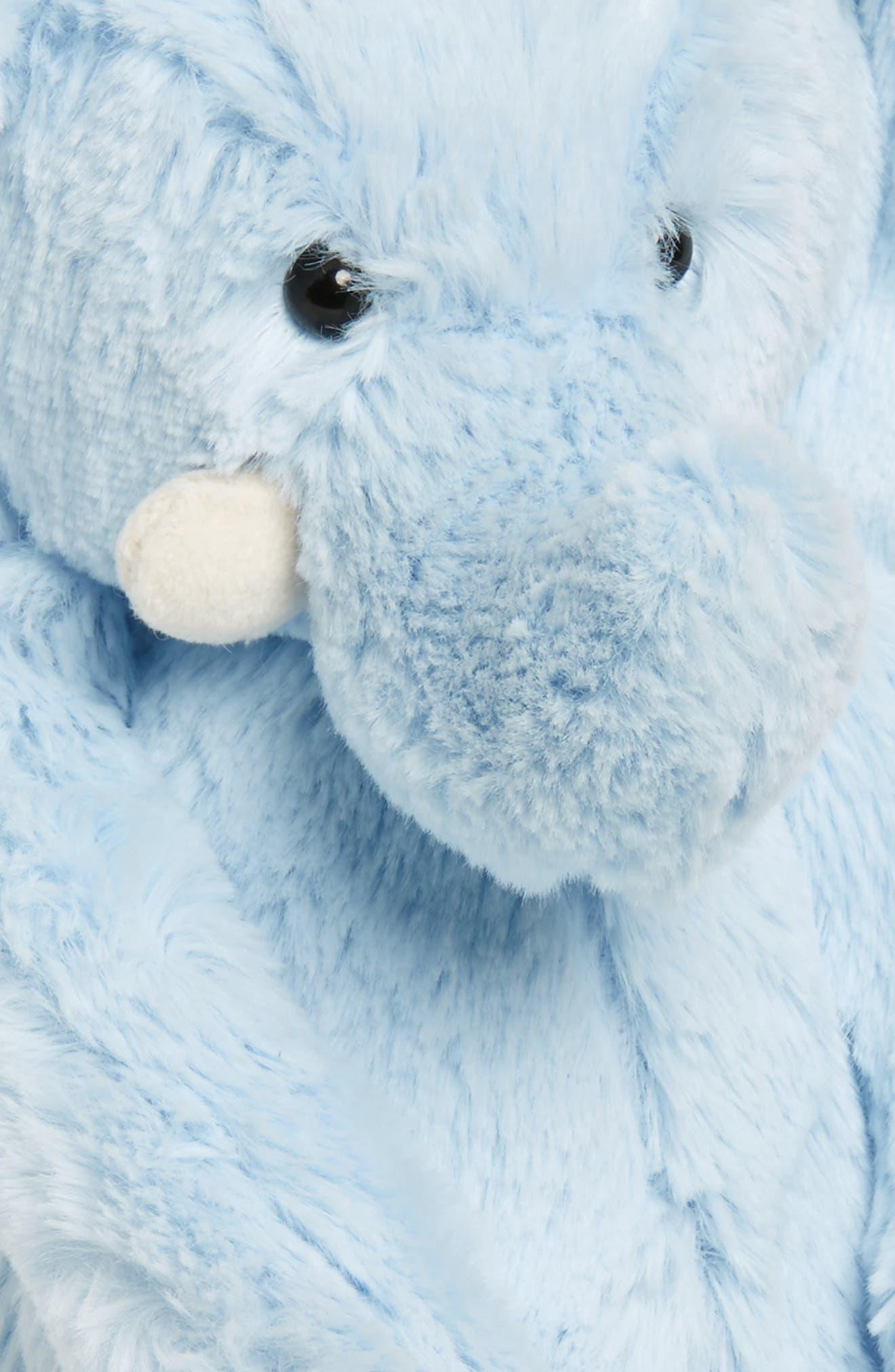 JELLYCAT, Chime Stuffed Elephant, Alternate thumbnail 3, color, 450