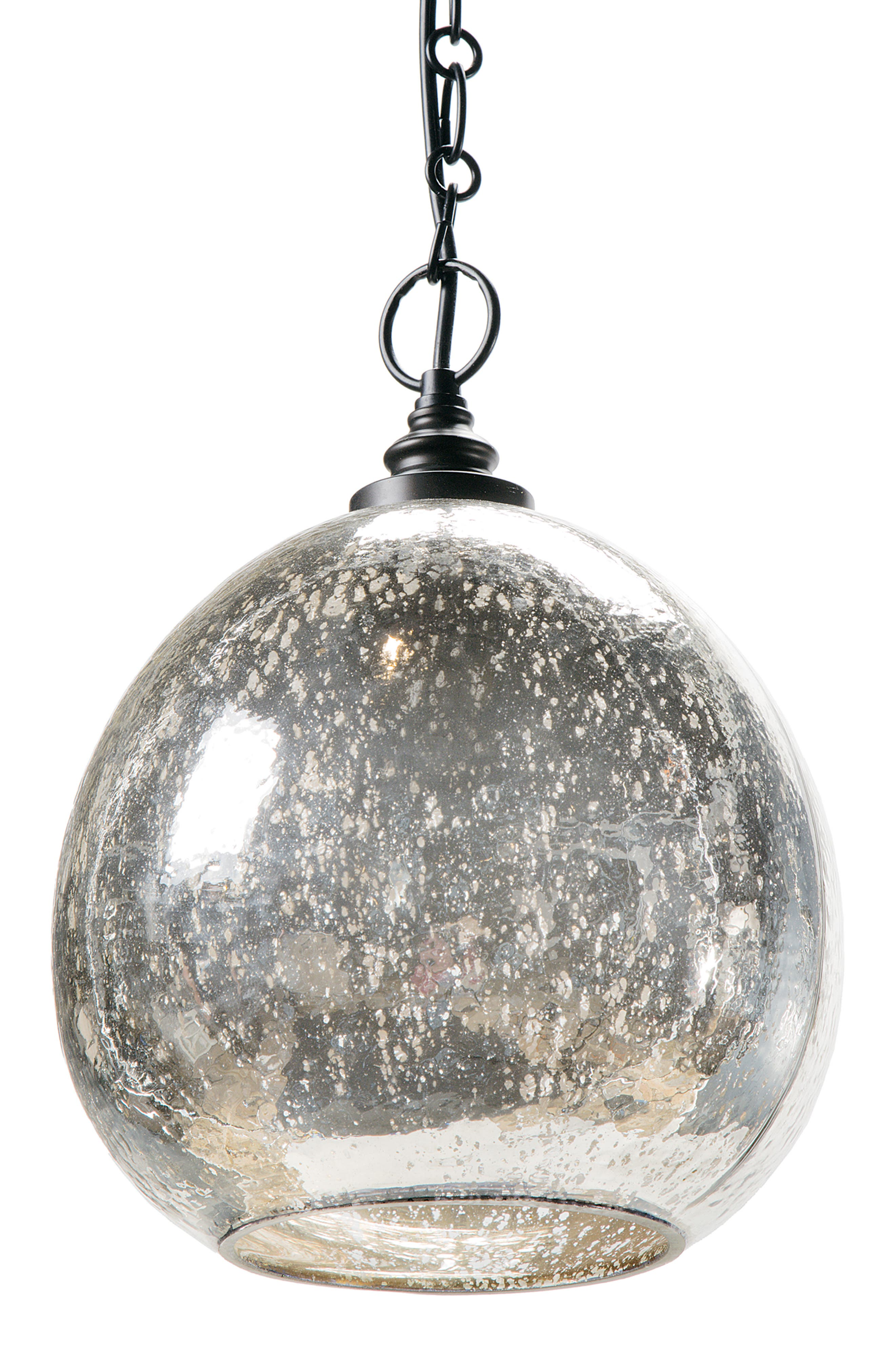 Regina Andrew Design Glass Float Pendant Lamp Size One Size  Metallic