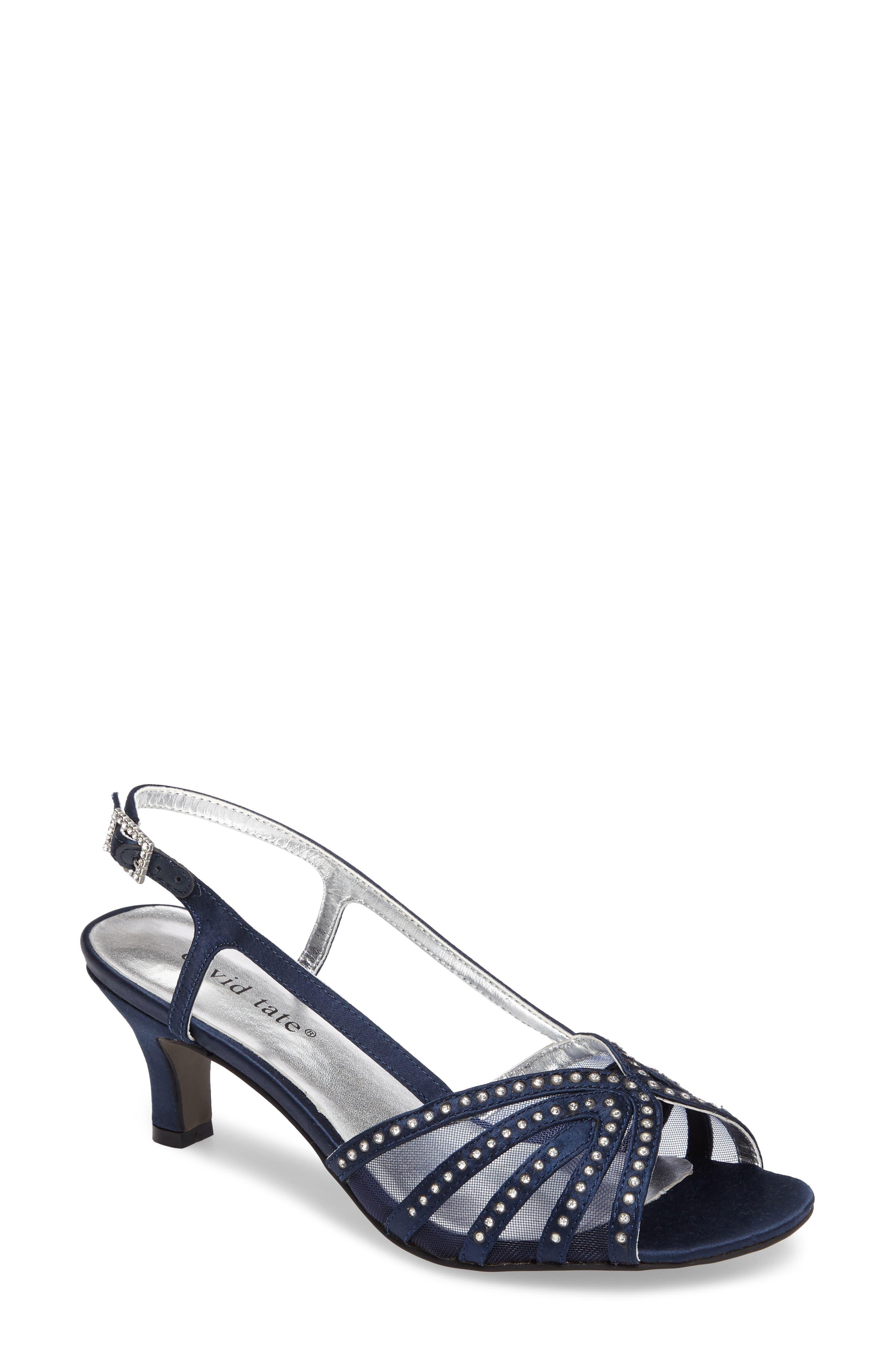 David Tate Sizzle Slingback Sandal, Blue
