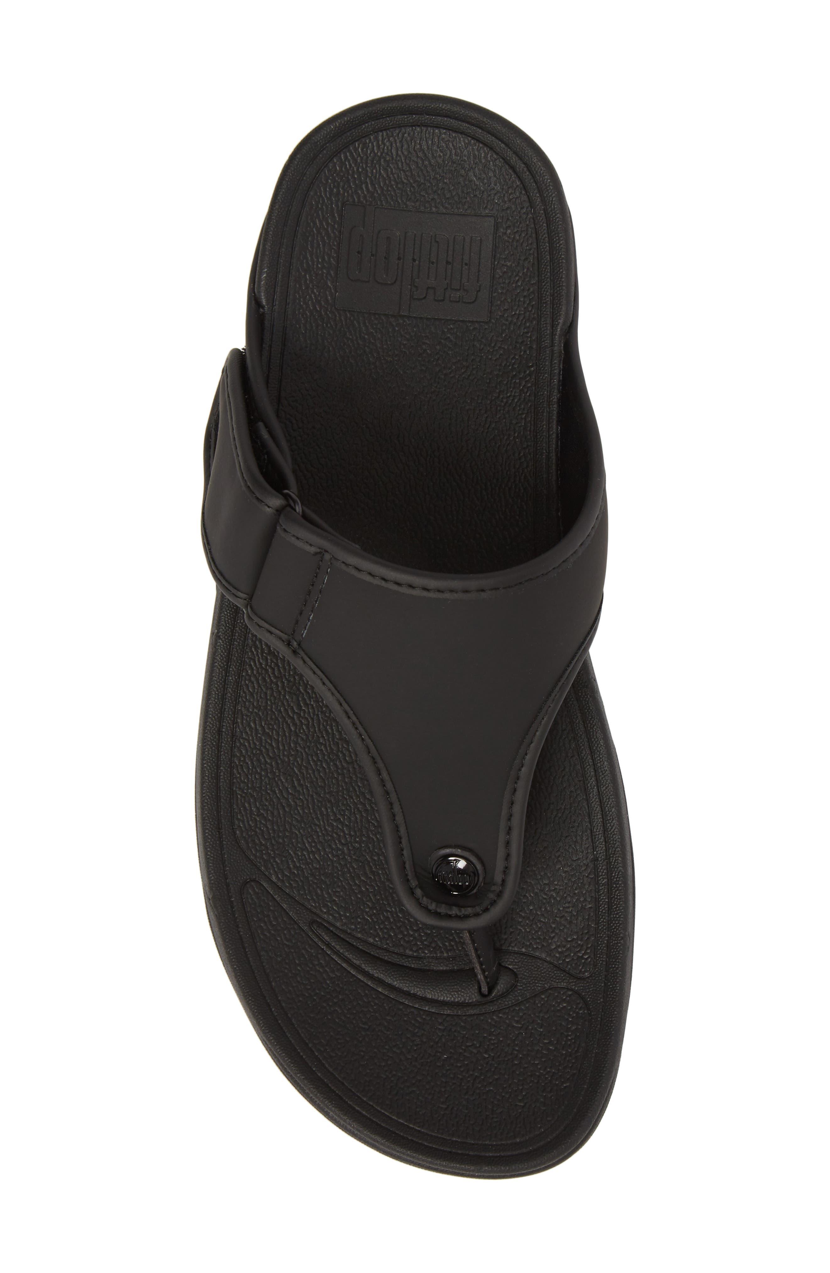 FITFLOP, Trakk<sup>™</sup> II Sandal, Alternate thumbnail 5, color, BLACK NEOPRENE