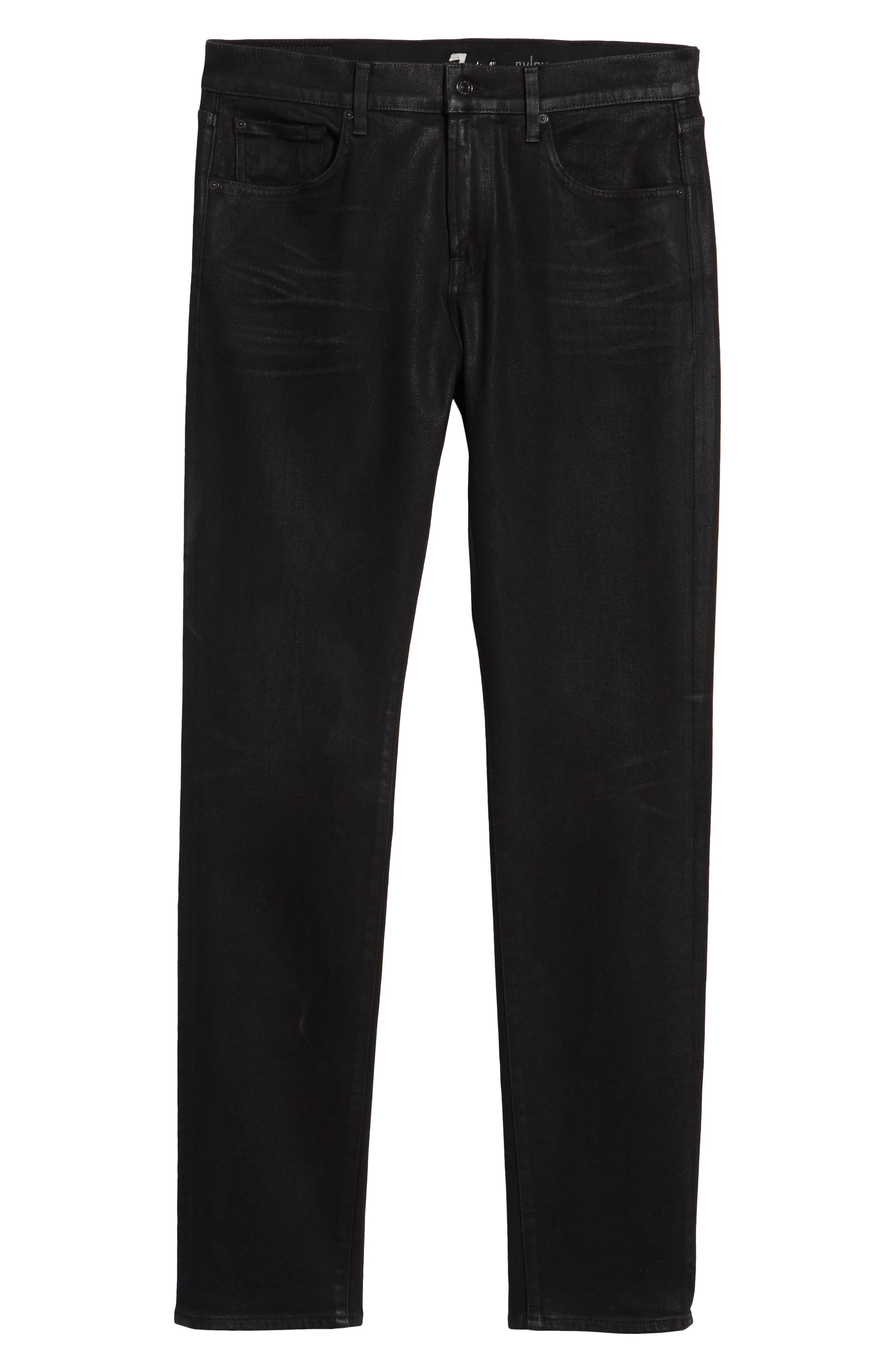 7 FOR ALL MANKIND<SUP>®</SUP>, Ryley Skinny Fit Jeans, Alternate thumbnail 7, color, 004
