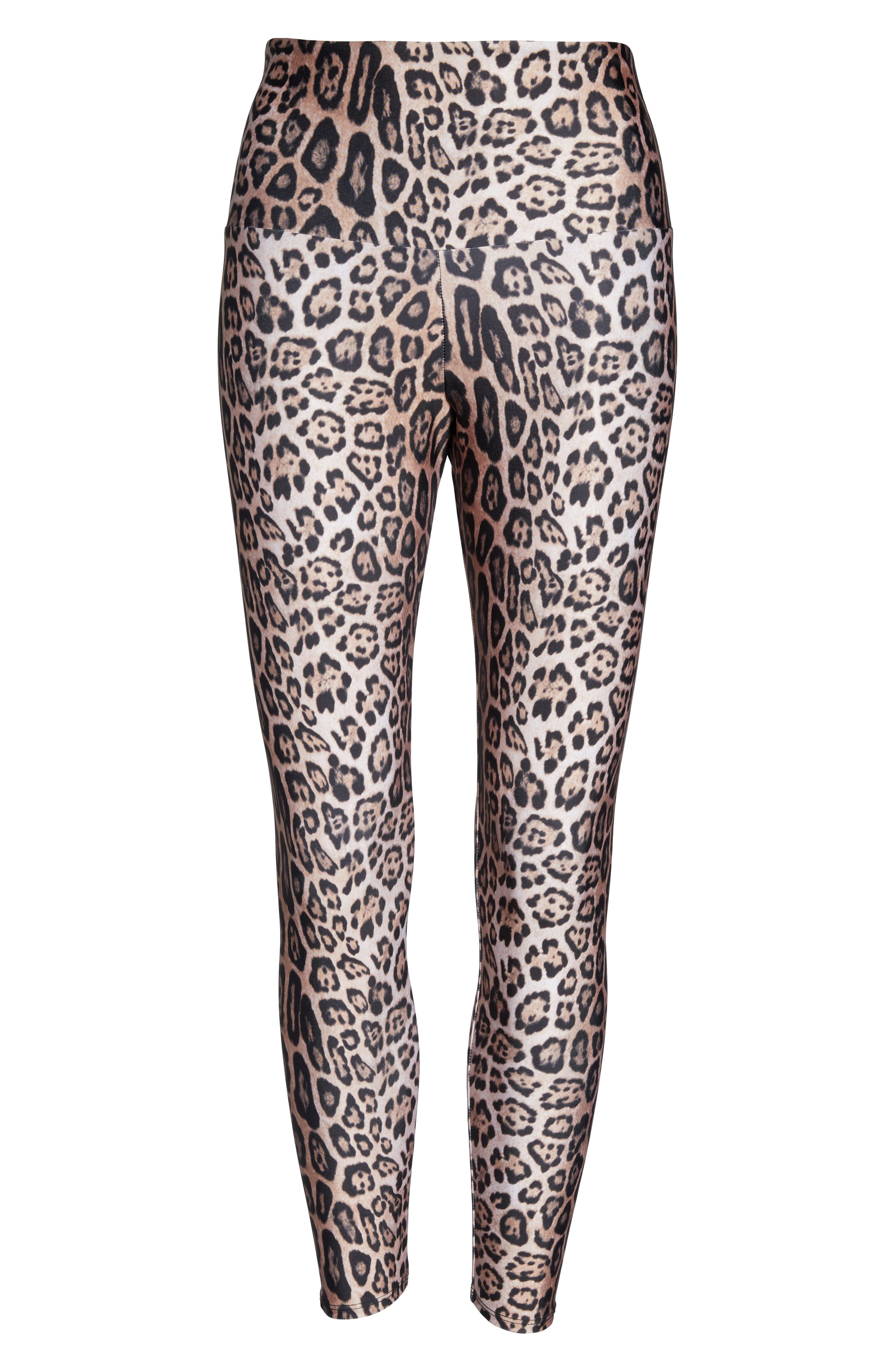 ONZIE, High Rise 7/8 Leggings, Alternate thumbnail 7, color, 200
