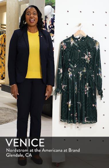 Sofiya Floral Ribbon Tie Dress, sales video thumbnail