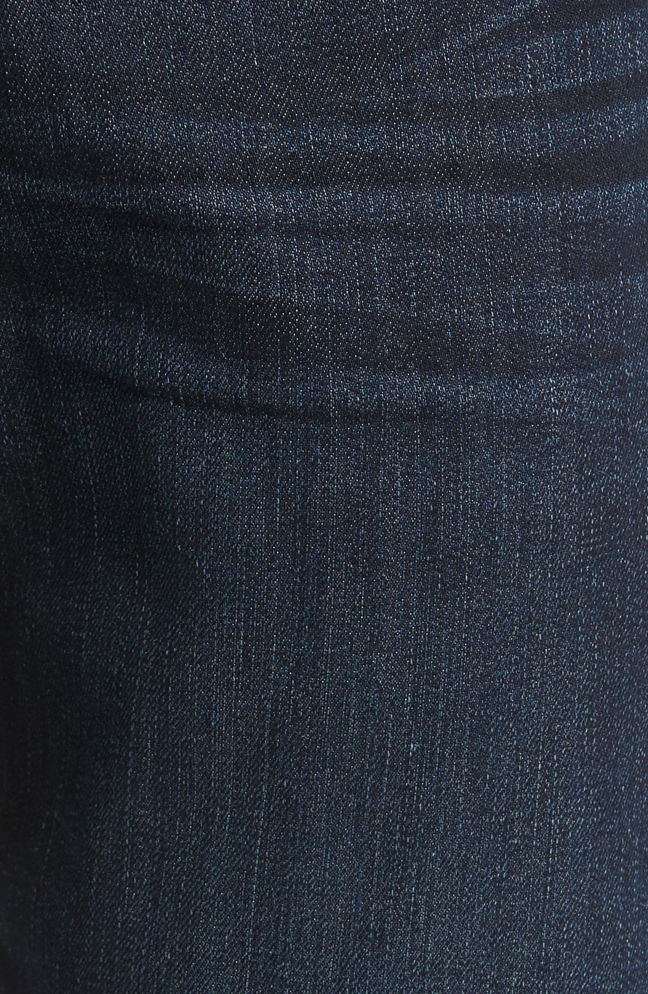 7 FOR ALL MANKIND<SUP>®</SUP>, The Straight Airweft Slim Straight Slim Leg Jeans, Alternate thumbnail 6, color, PERENNIAL