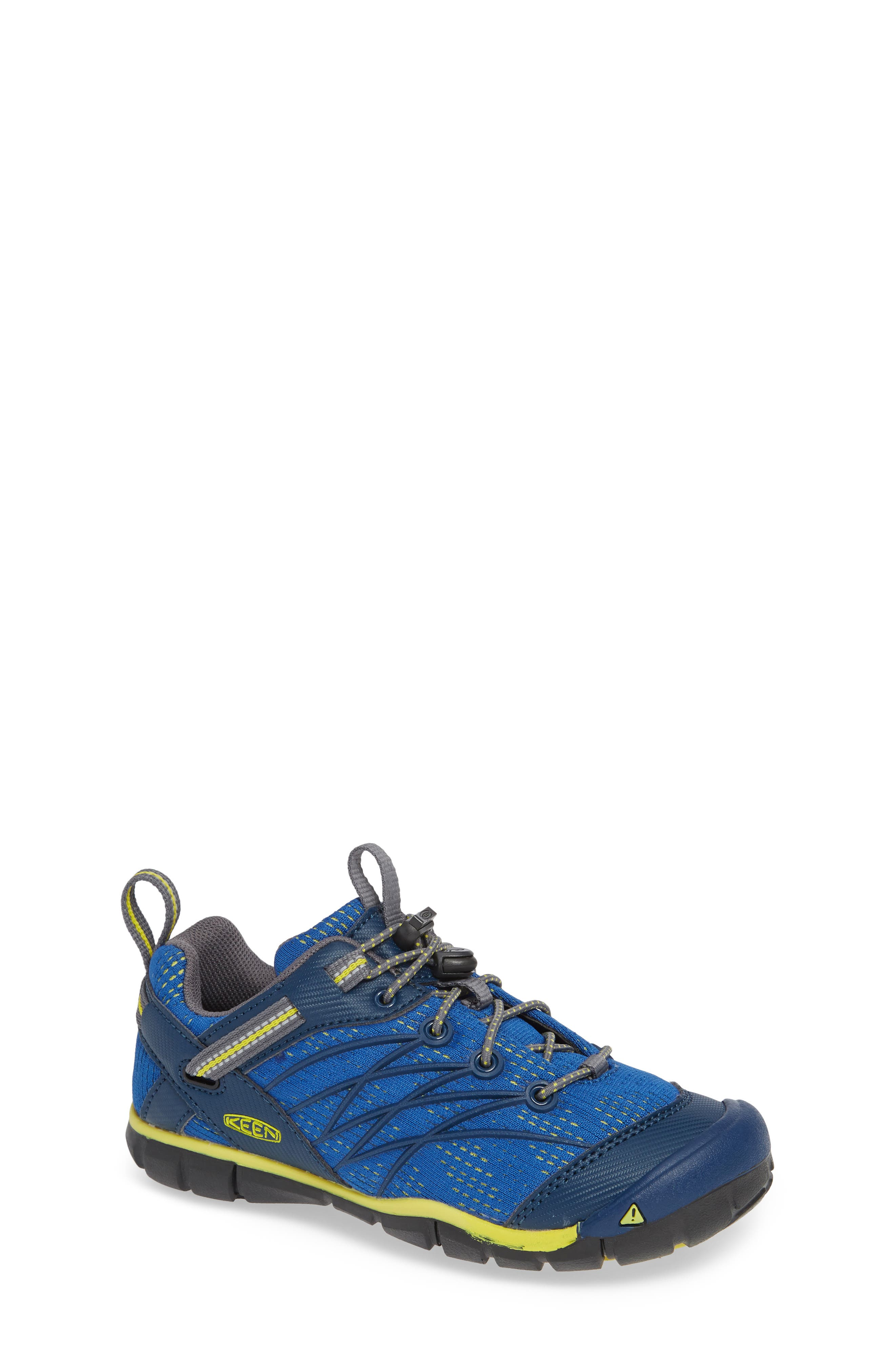 KEEN, 'Chandler CNX' Water Friendly Sneaker, Main thumbnail 1, color, BLUE OPAL/ BLUE