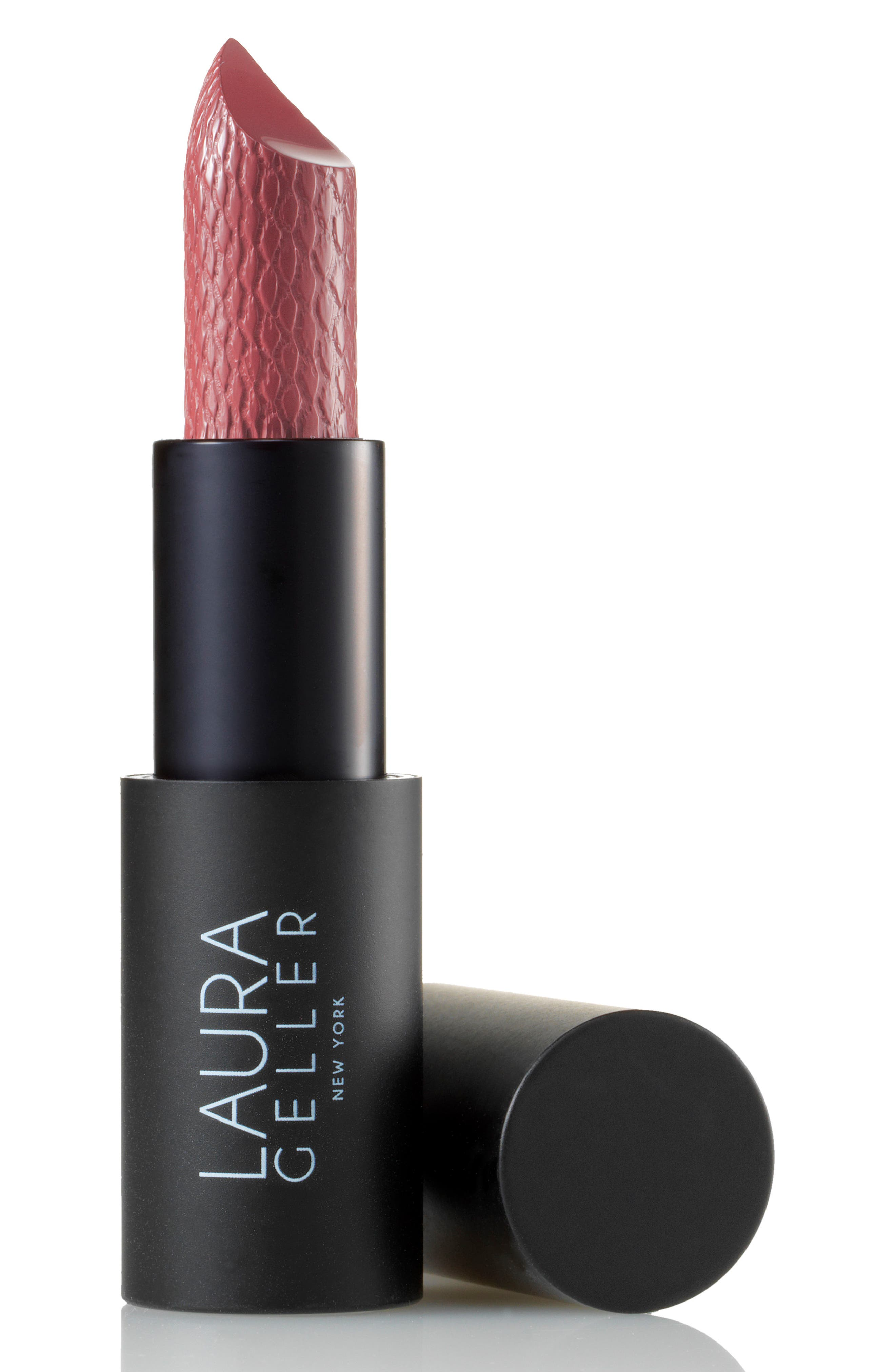 LAURA GELLER BEAUTY, Iconic Baked Sculpting Lipstick, Main thumbnail 1, color, CHOCOLATE RASPBERRY