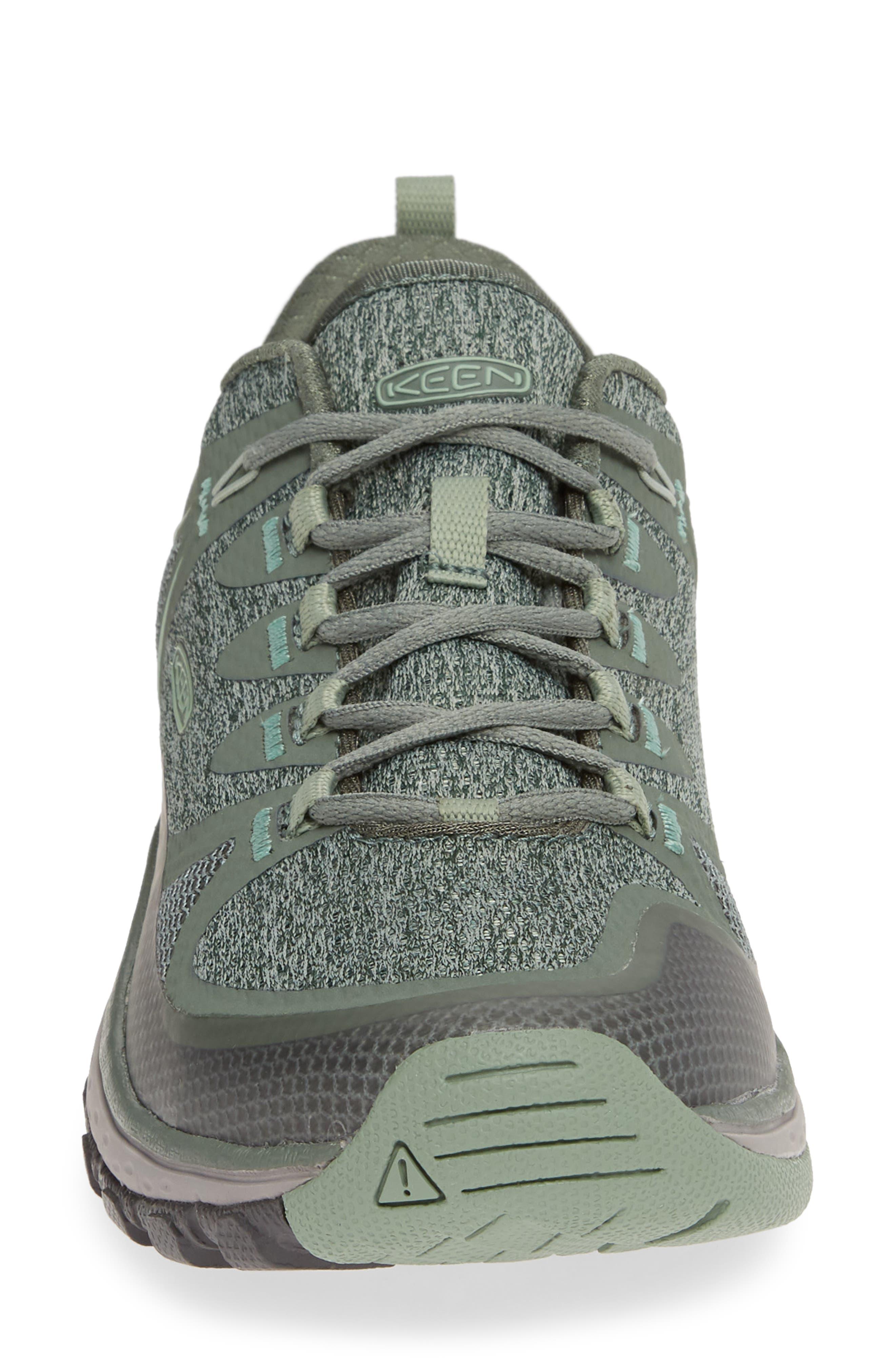KEEN, Terradora Vent Hiking Shoe, Alternate thumbnail 4, color, LAUREL WREATH/ LILY PAD FABRIC