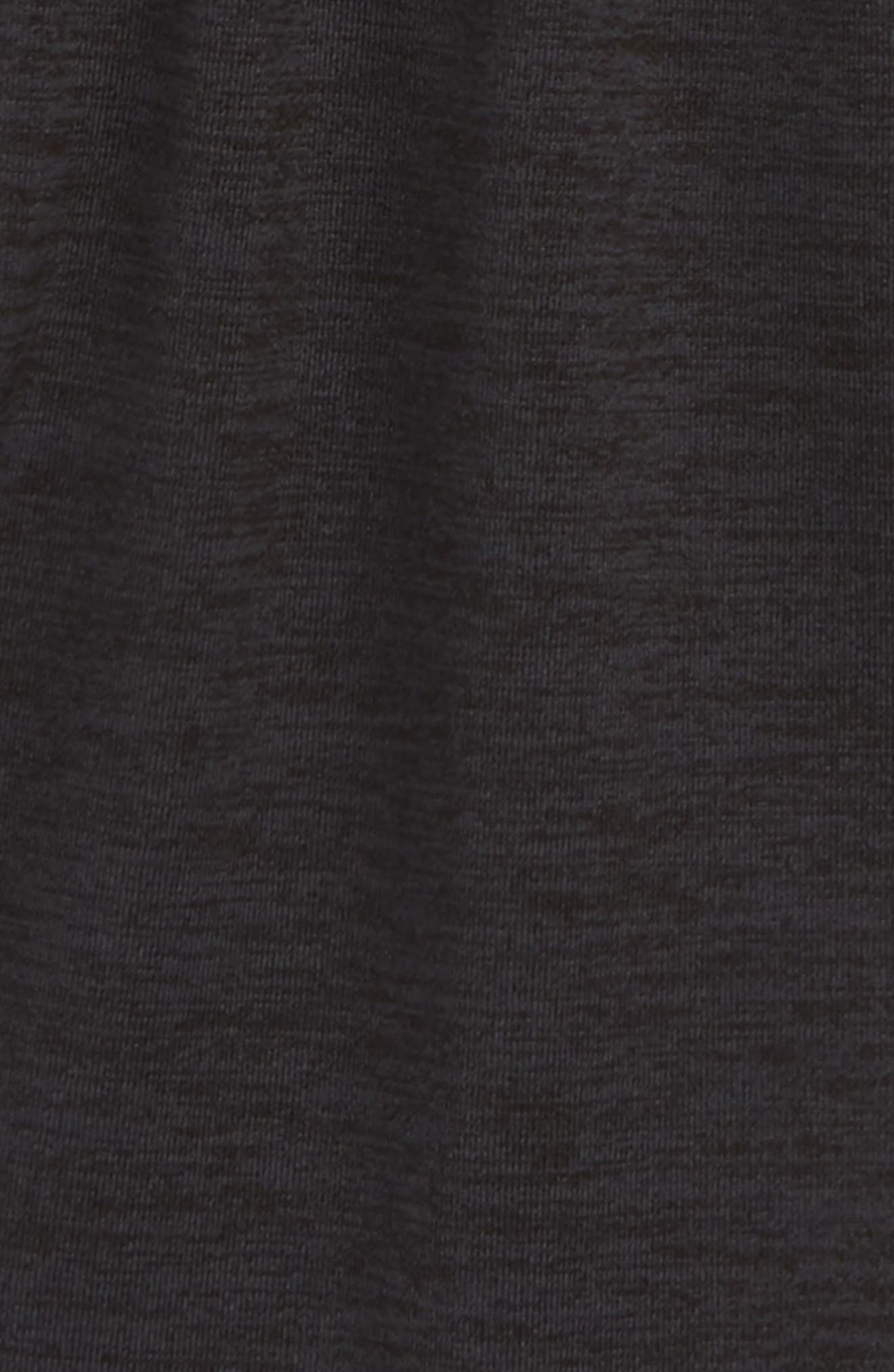 PUMA, Logo Sport Shorts, Alternate thumbnail 2, color, EBONY HEATHER