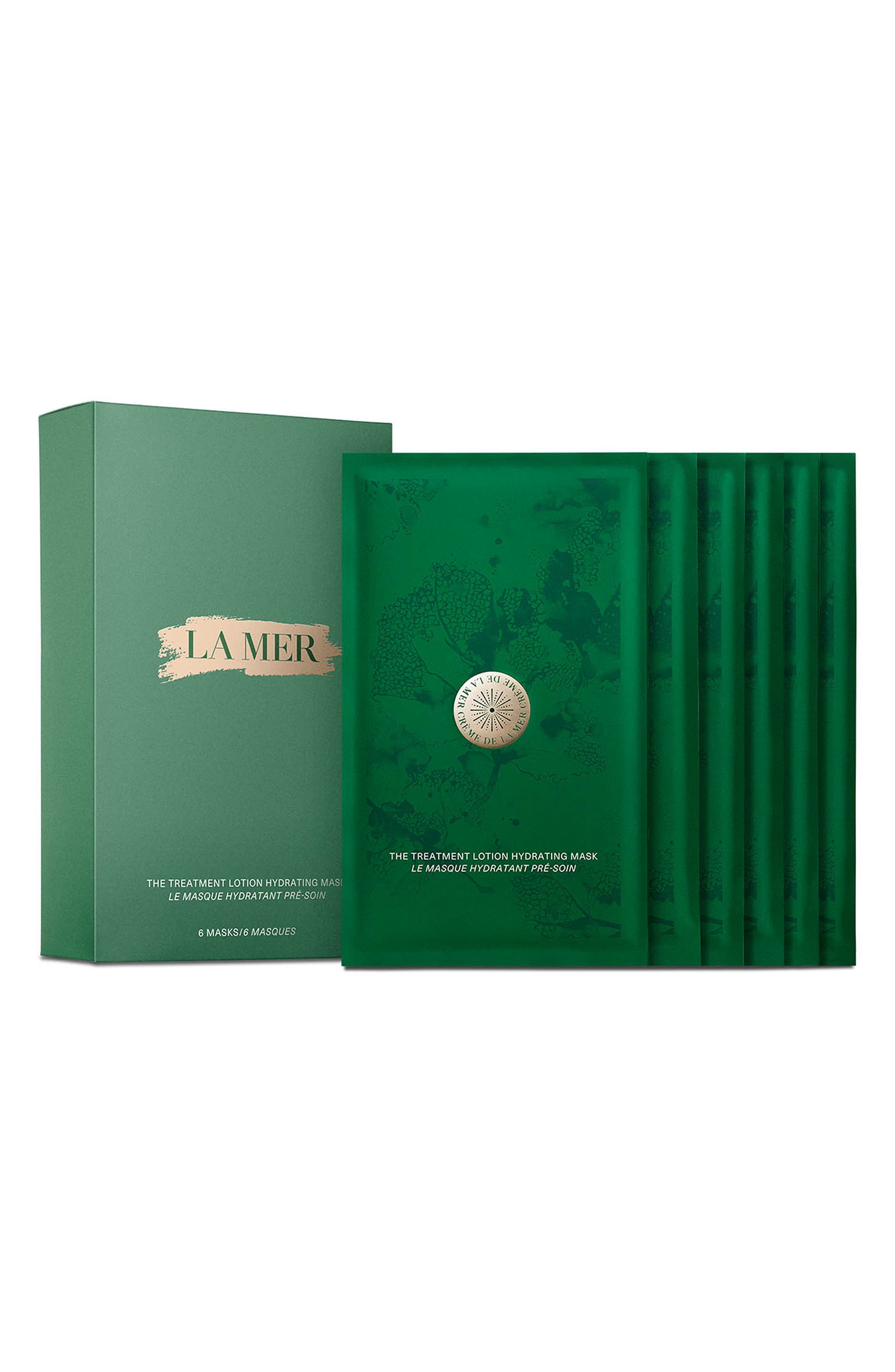 LA MER The Treatment Lotion Hydrating Mask, Main, color, NO COLOR