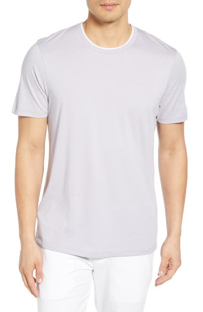 Ted Baker Sink Slim Fit T-Shirt In Lilac