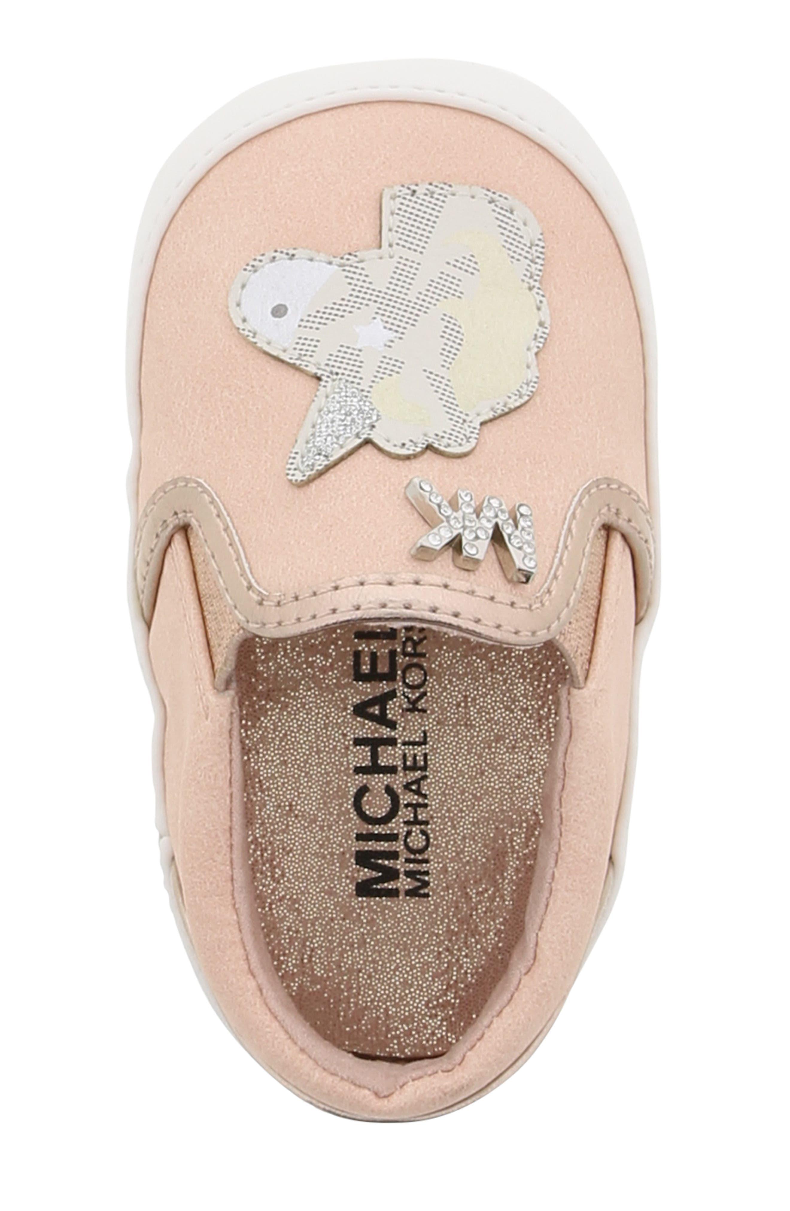 MICHAEL MICHAEL KORS, Magic Slip-On Sneaker, Alternate thumbnail 5, color, BLUSH