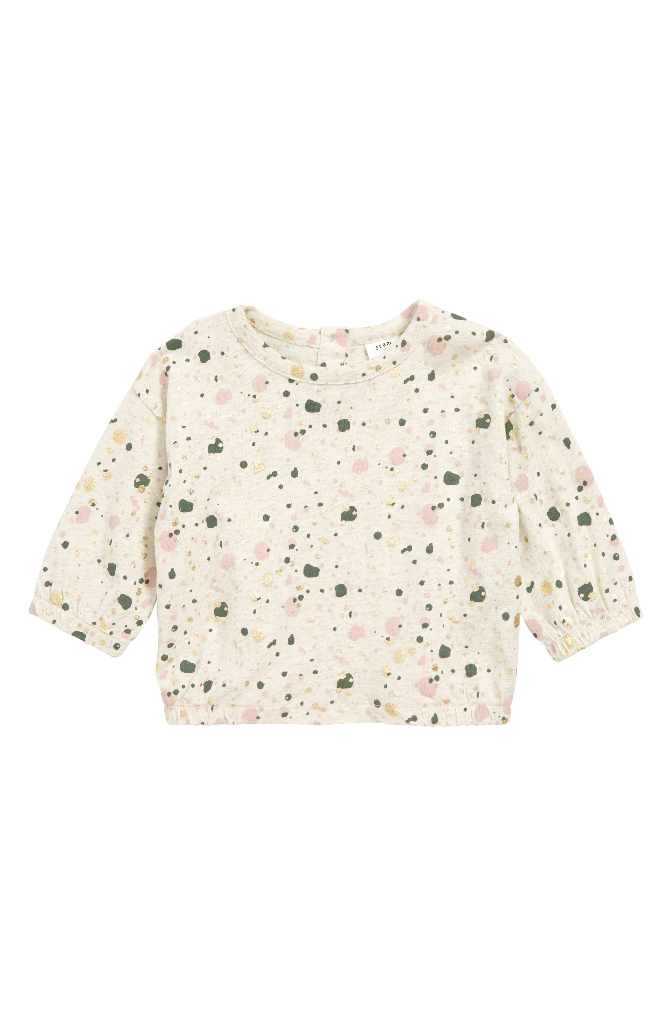 STEM Print Scoop T-Shirt, Main, color, 900