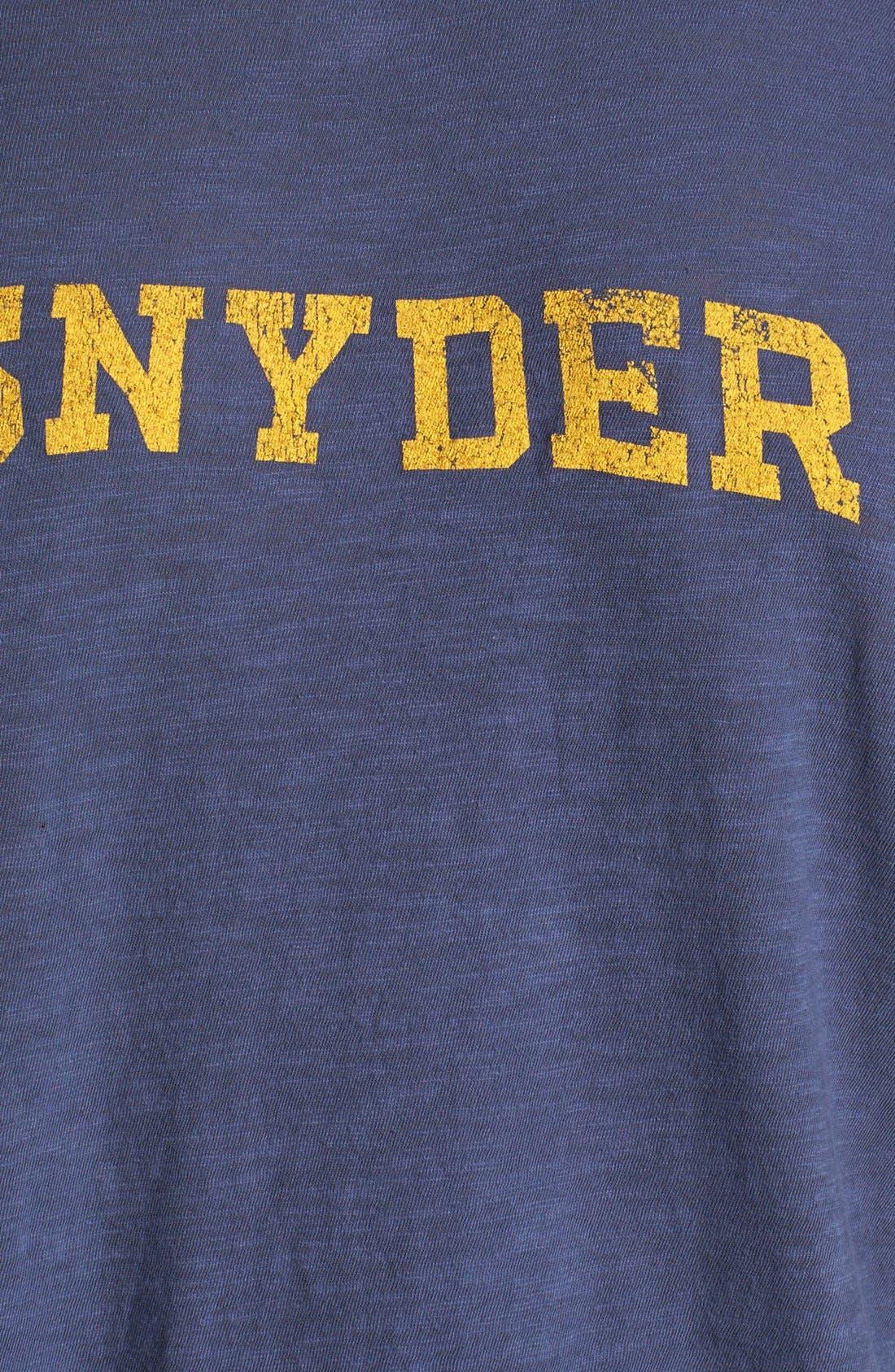 TODD SNYDER + CHAMPION, 'City Gym - Classic' Crewneck T-Shirt, Alternate thumbnail 2, color, 410