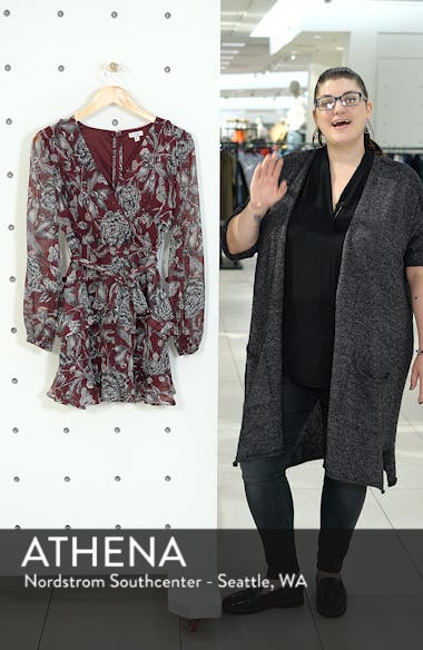 Tiered Wrap Dress, sales video thumbnail