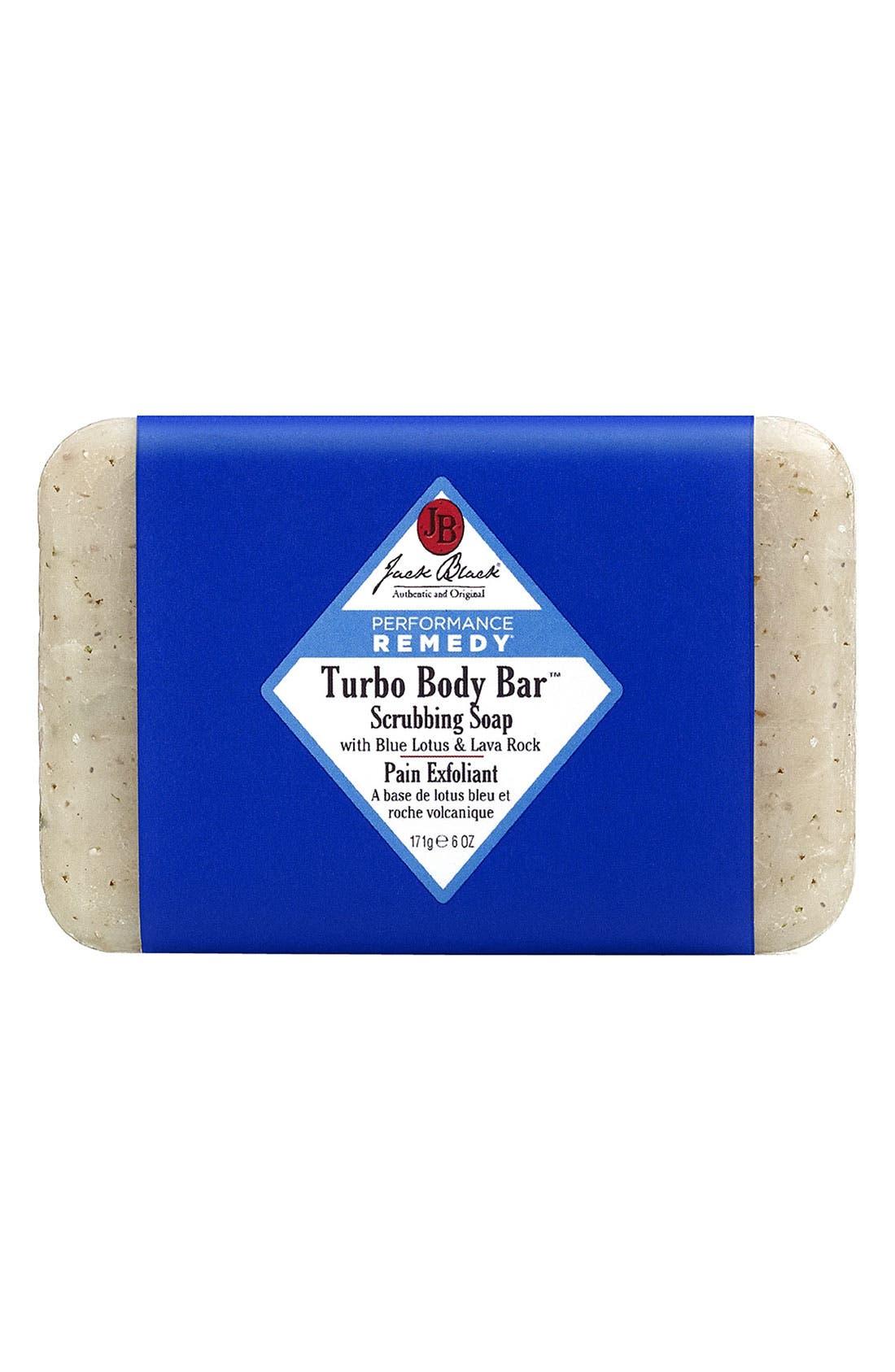 JACK BLACK Turbo Body Bar Scrubbing Soap, Main, color, NO COLOR