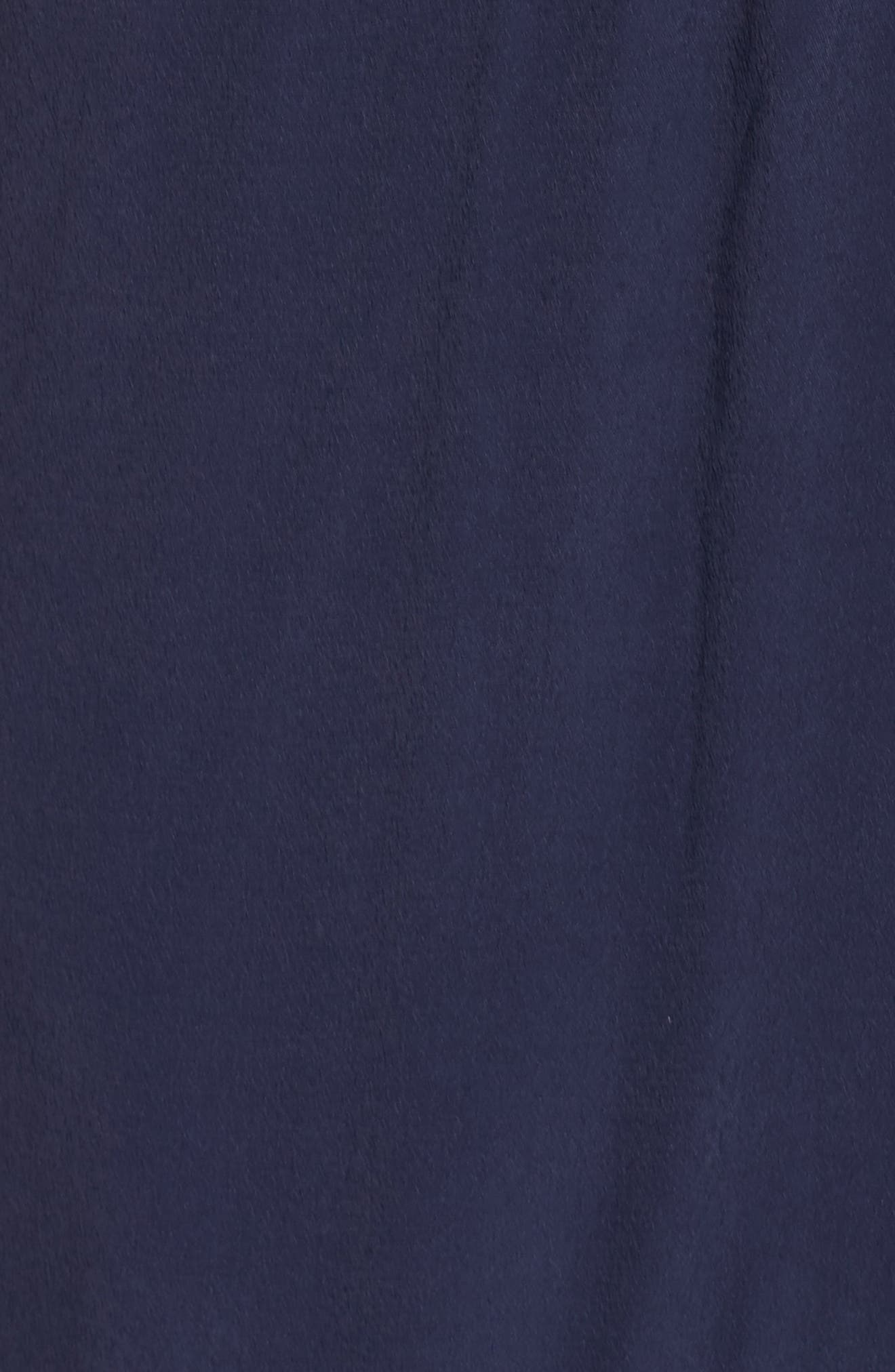 FRAICHE BY J, Cold Shoulder Maxi Dress, Alternate thumbnail 5, color, NAVY