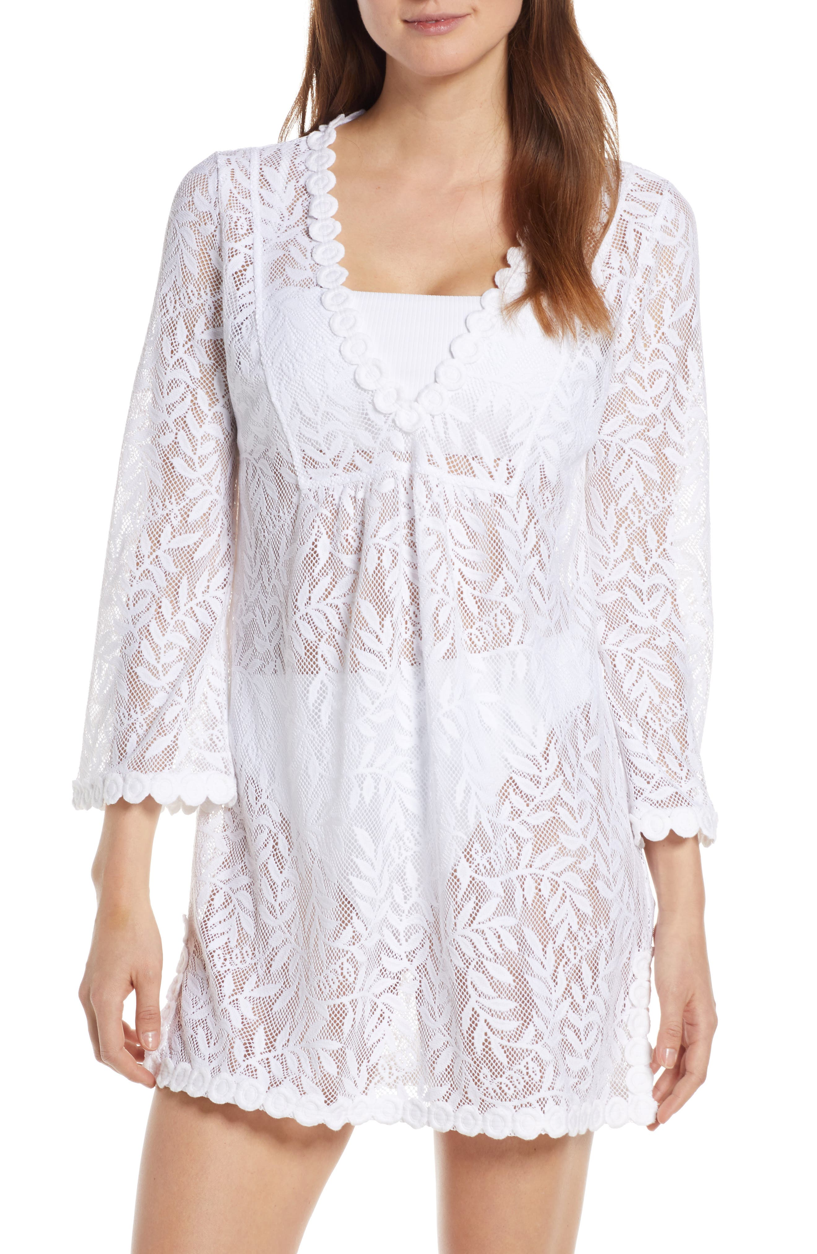 Lilly Pulitzer Patrice Cover-Up Tunic, White