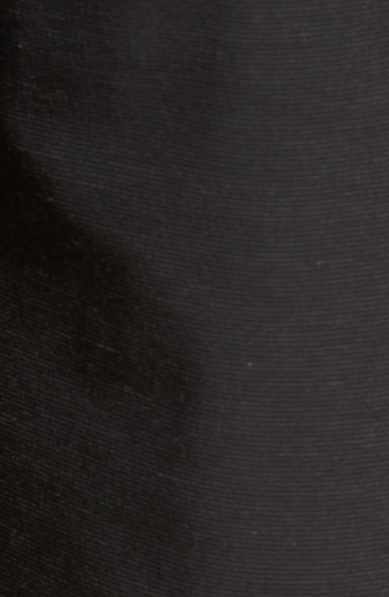 TRAVISMATHEW, Beck Stretch Performance Shorts, Alternate thumbnail 5, color, BLACK