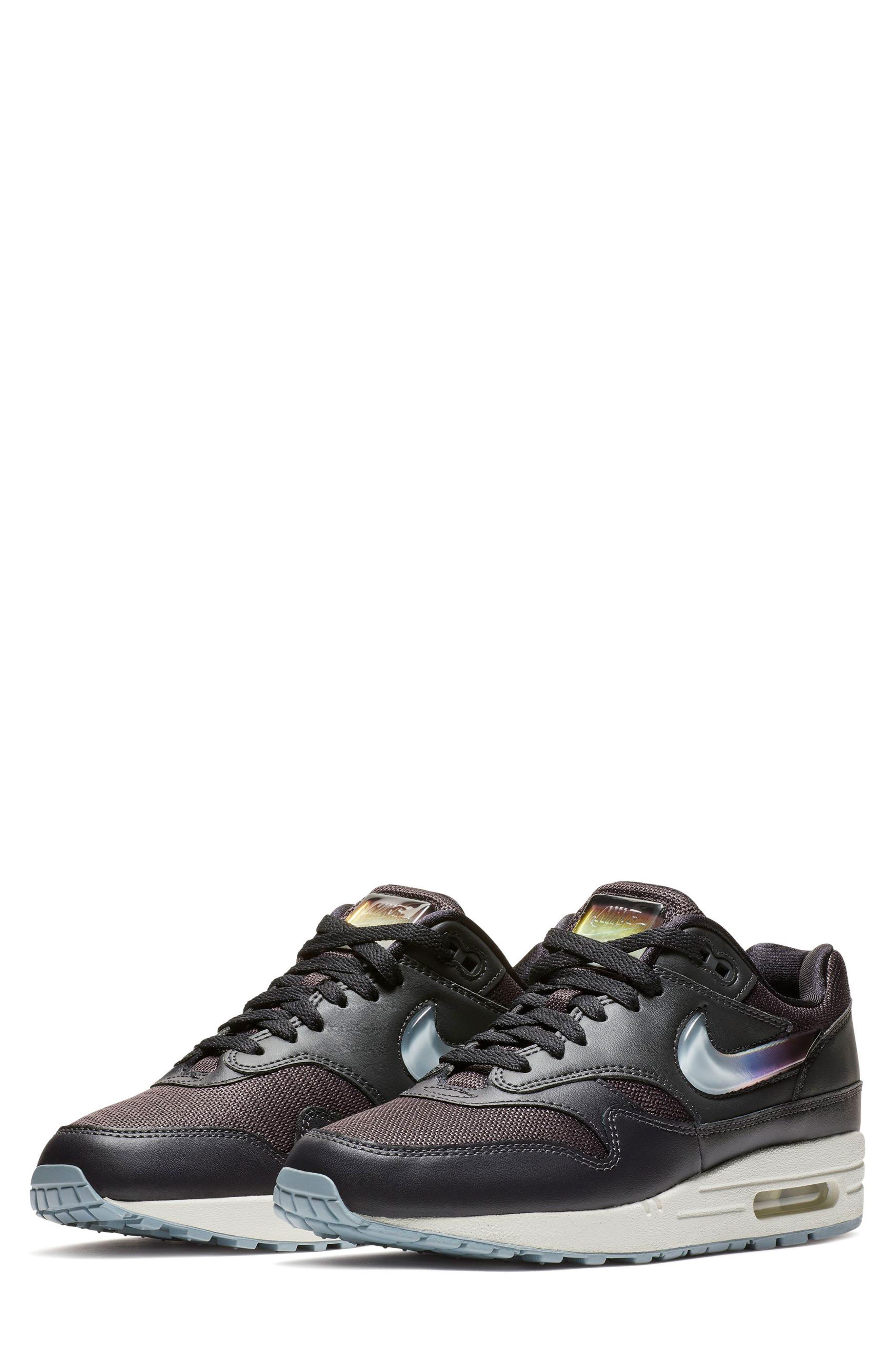 NIKE Air Max 1 JP Sneaker, Main, color, OIL GREY/ OBSIDIAN/ WHITE