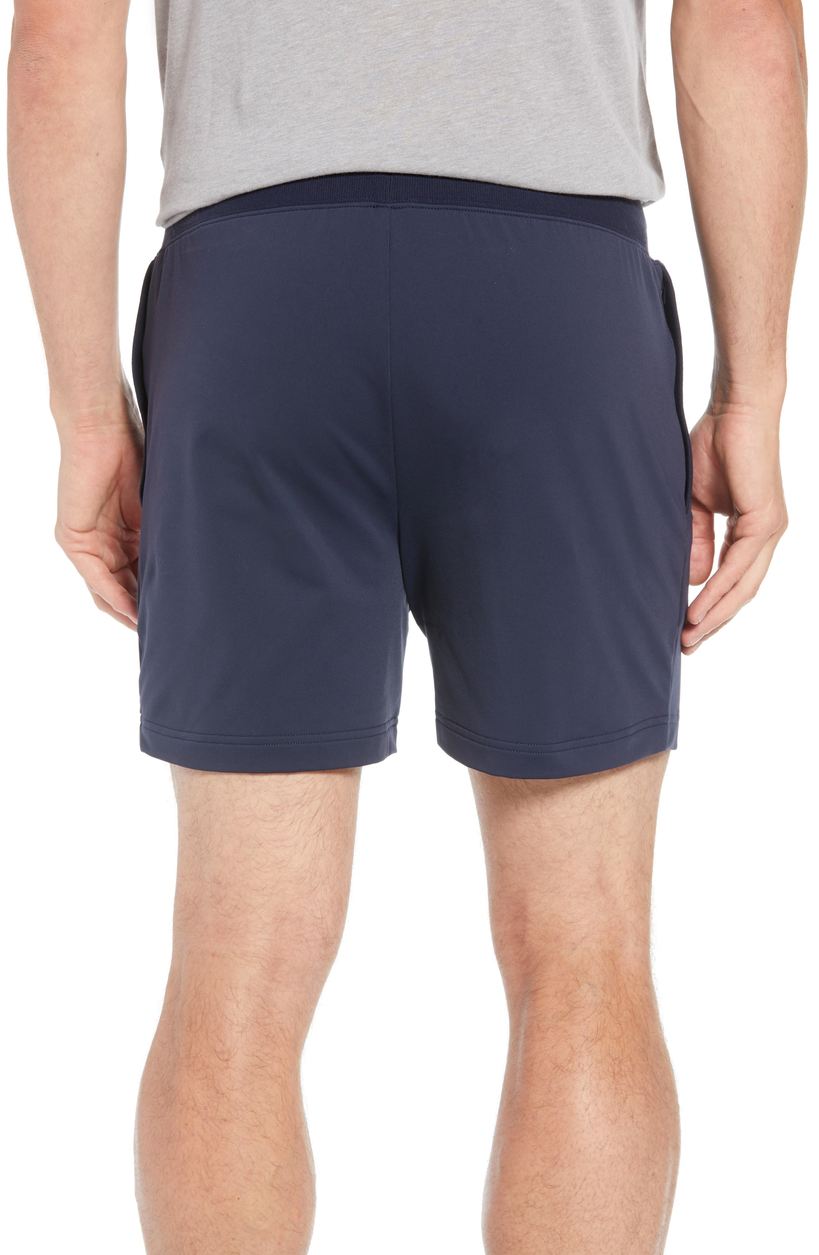 ALO, Regenerate Shorts, Alternate thumbnail 2, color, DARK NAVY TRIBLEND