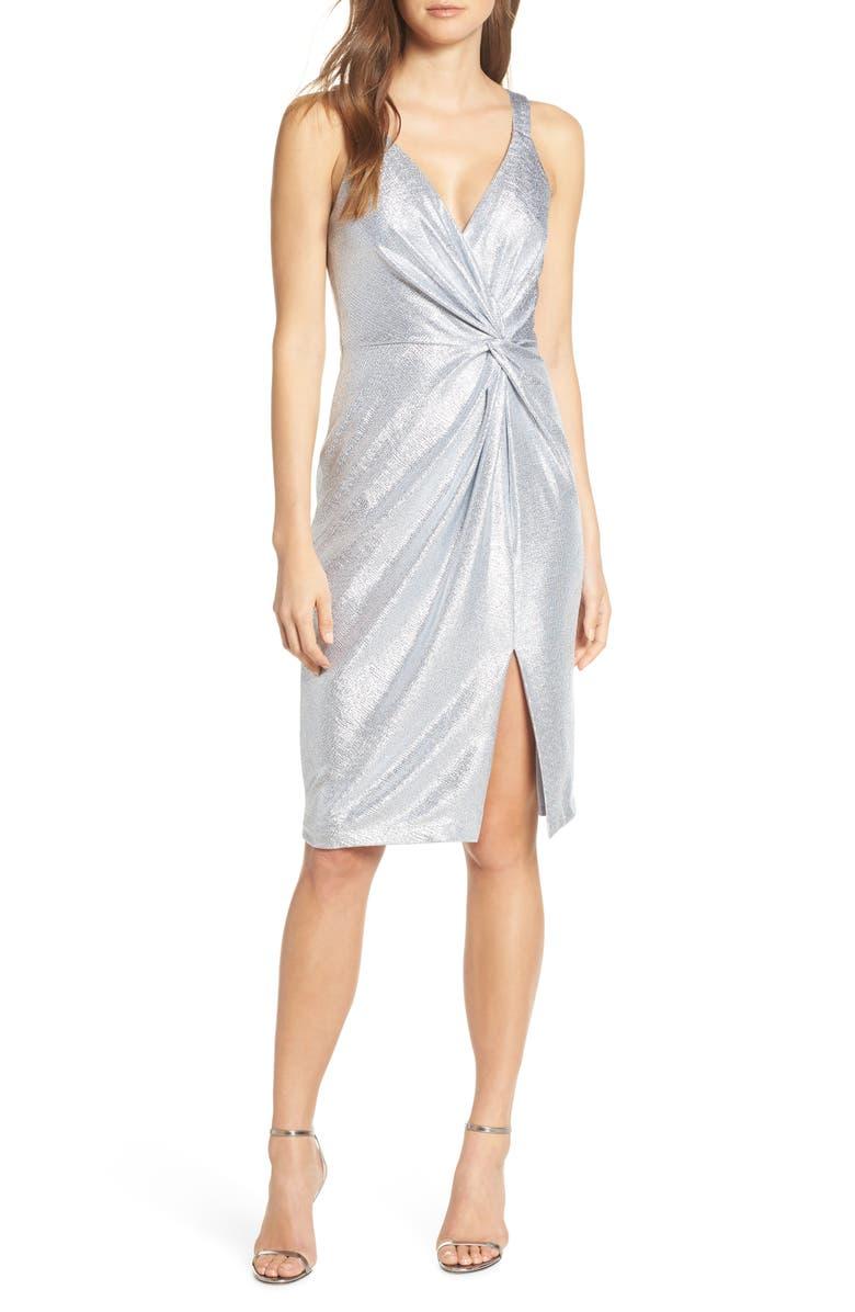 Eliza J Dresses TWISTED DRESS