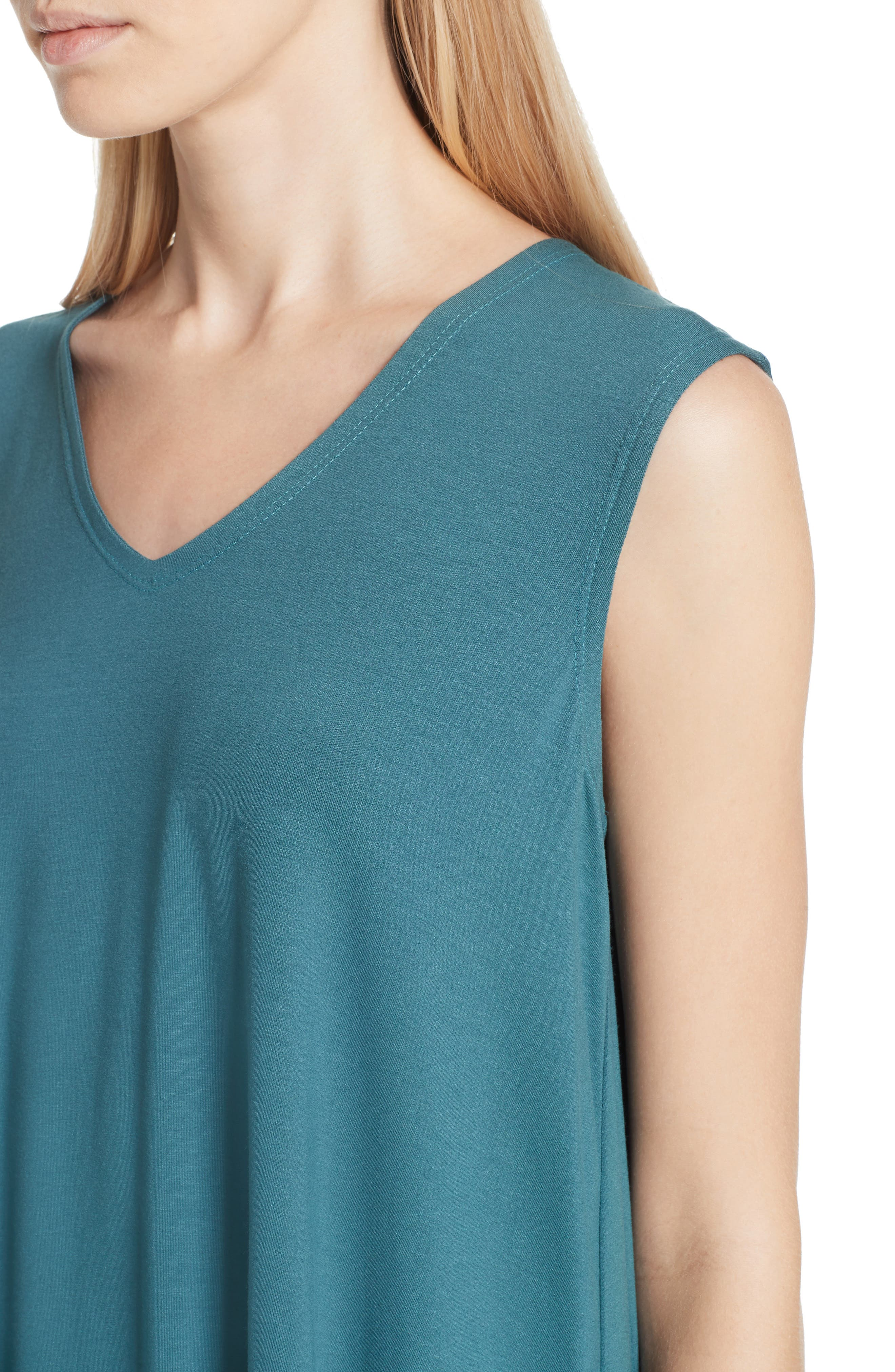 EILEEN FISHER, Jersey Tank, Alternate thumbnail 4, color, 441