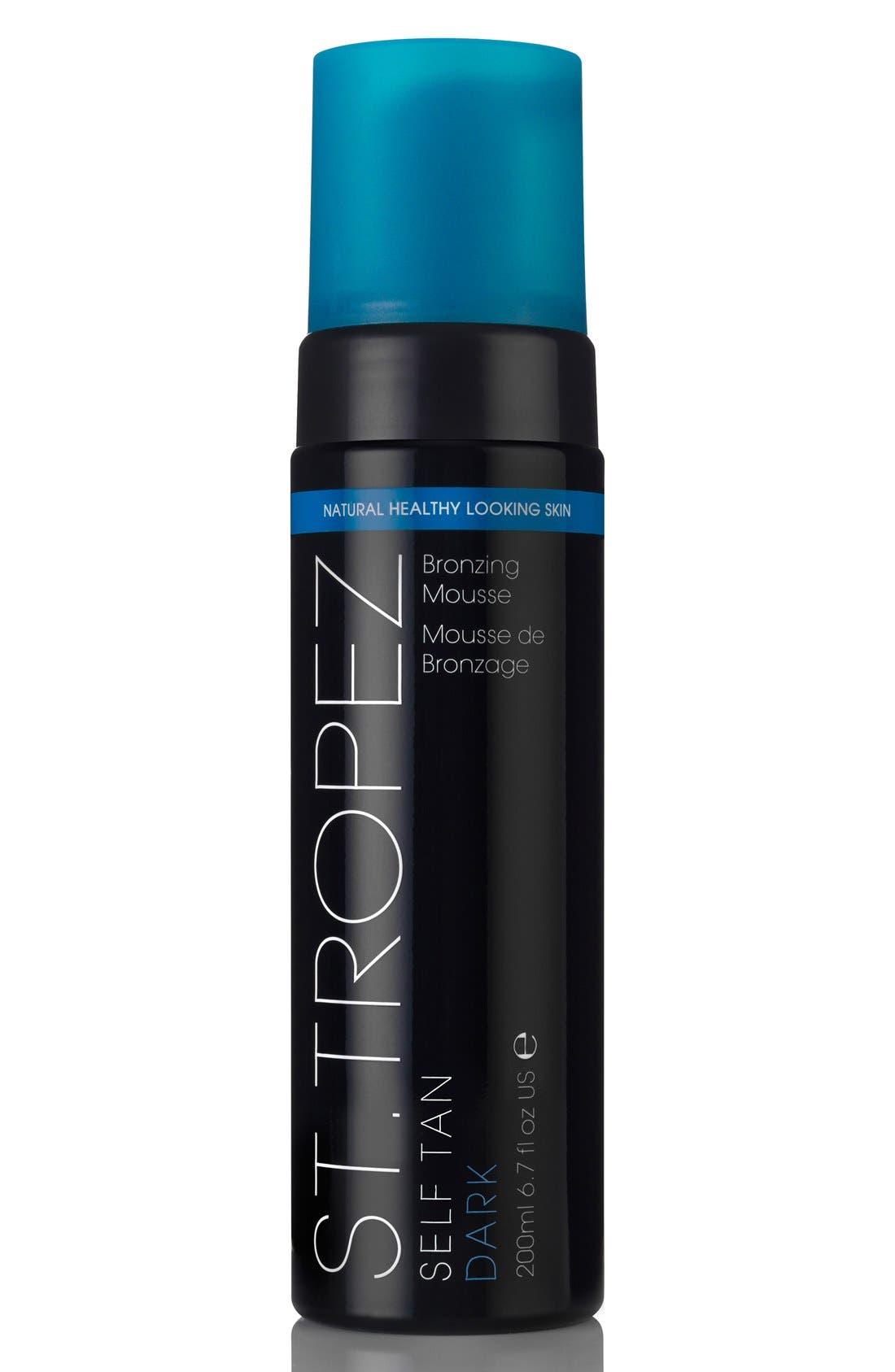 ST. TROPEZ 'Self Tan' Dark Bronzing Mousse, Main, color, NO COLOR