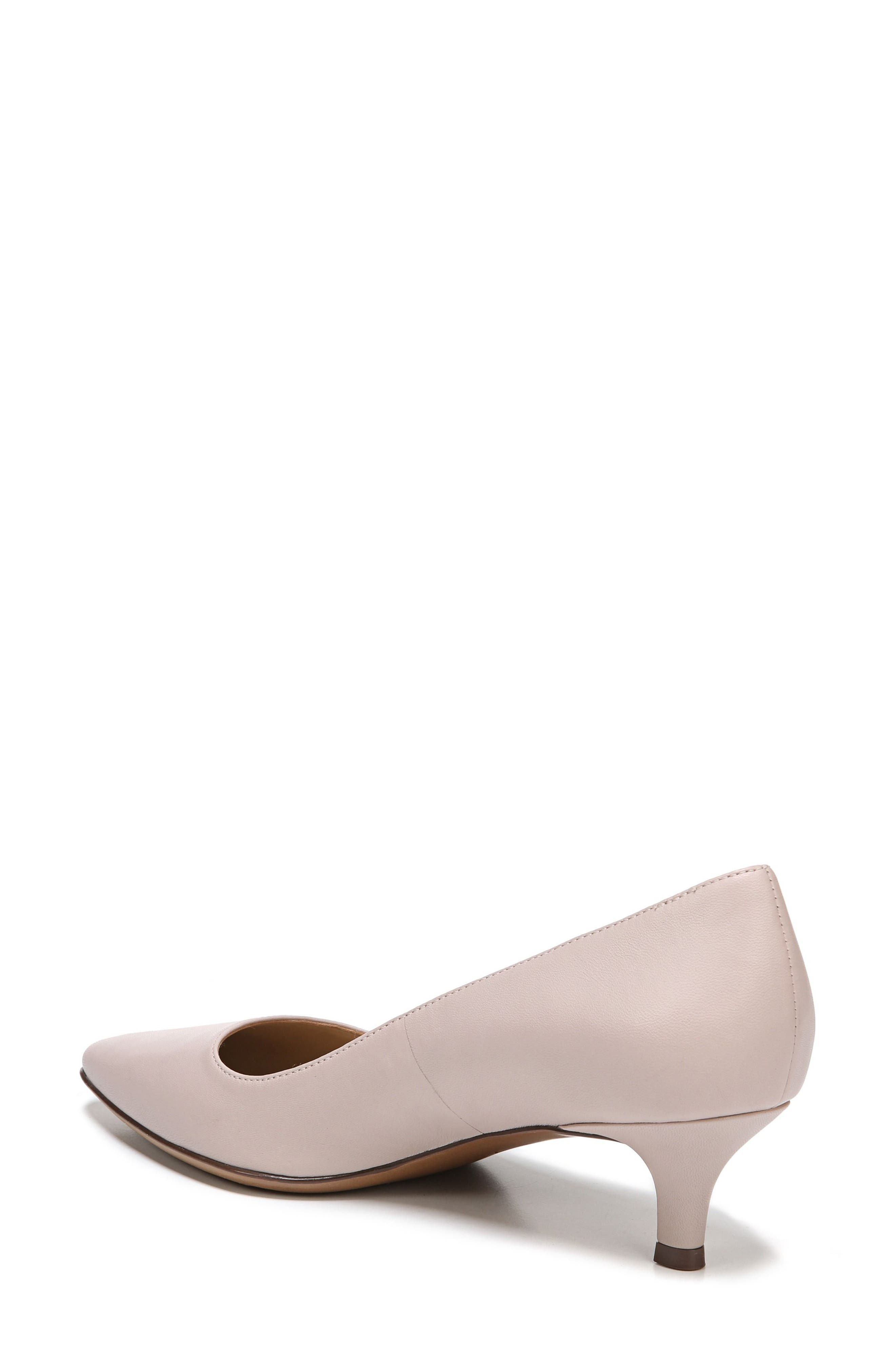 NATURALIZER, Pippa Pump, Alternate thumbnail 2, color, GREY LEATHER