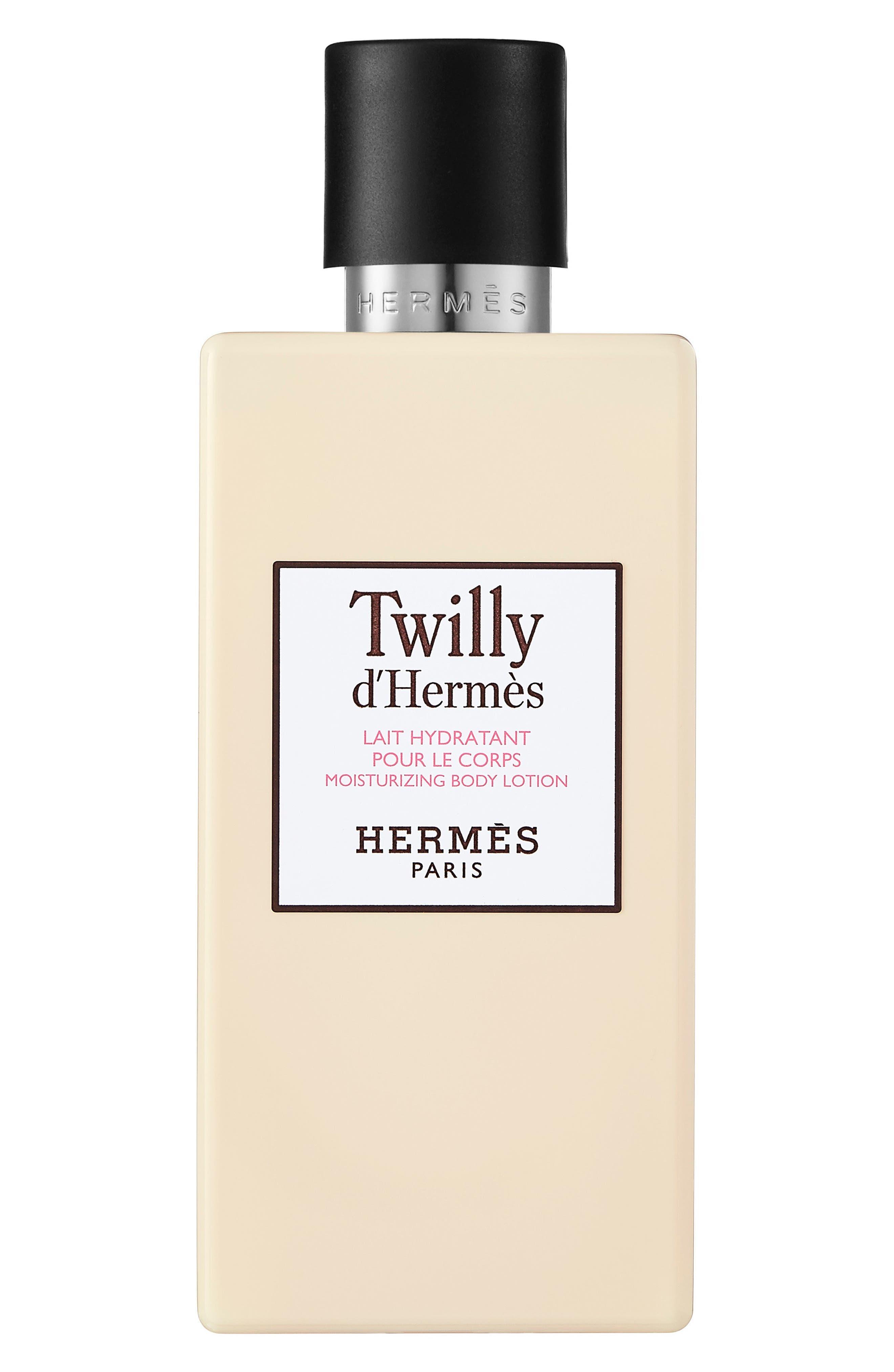 HERMÈS, Twilly d'Hermès - Moisturizing body lotion, Main thumbnail 1, color, NO COLOR
