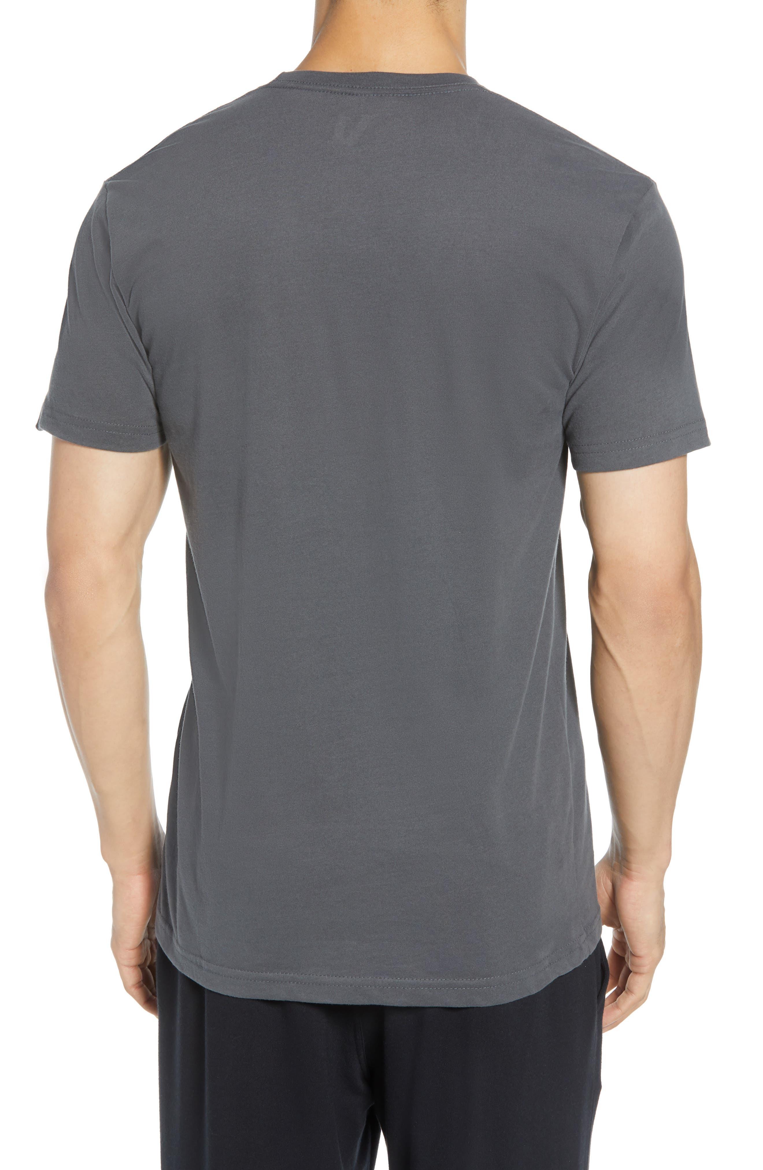 VUORI, The Rise The Shine Graphic T-Shirt, Alternate thumbnail 2, color, CHARCOAL