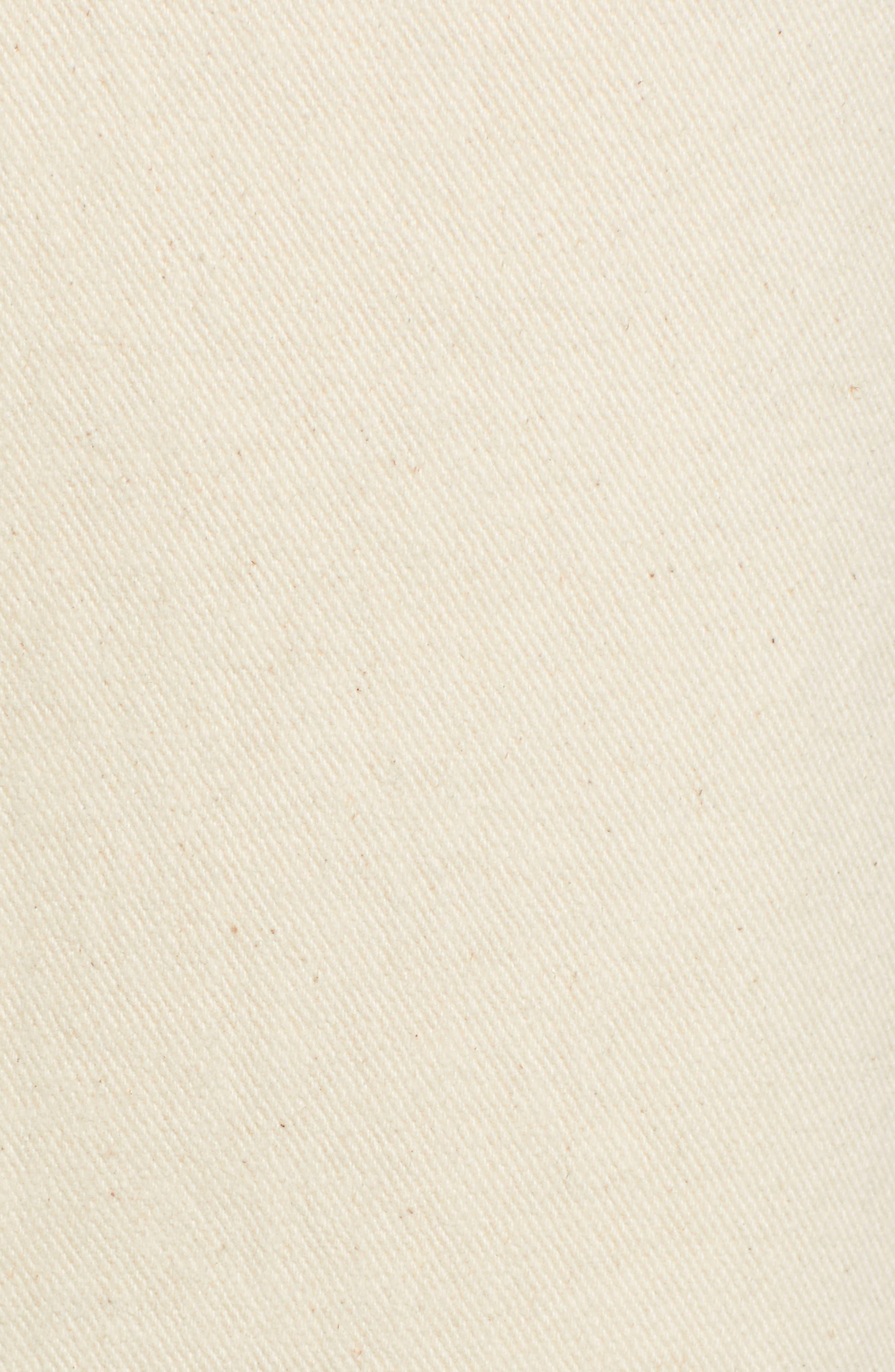CHRISELLE LIM COLLECTION, Chriselle Lim Marine Midi Skirt, Alternate thumbnail 5, color, BONE