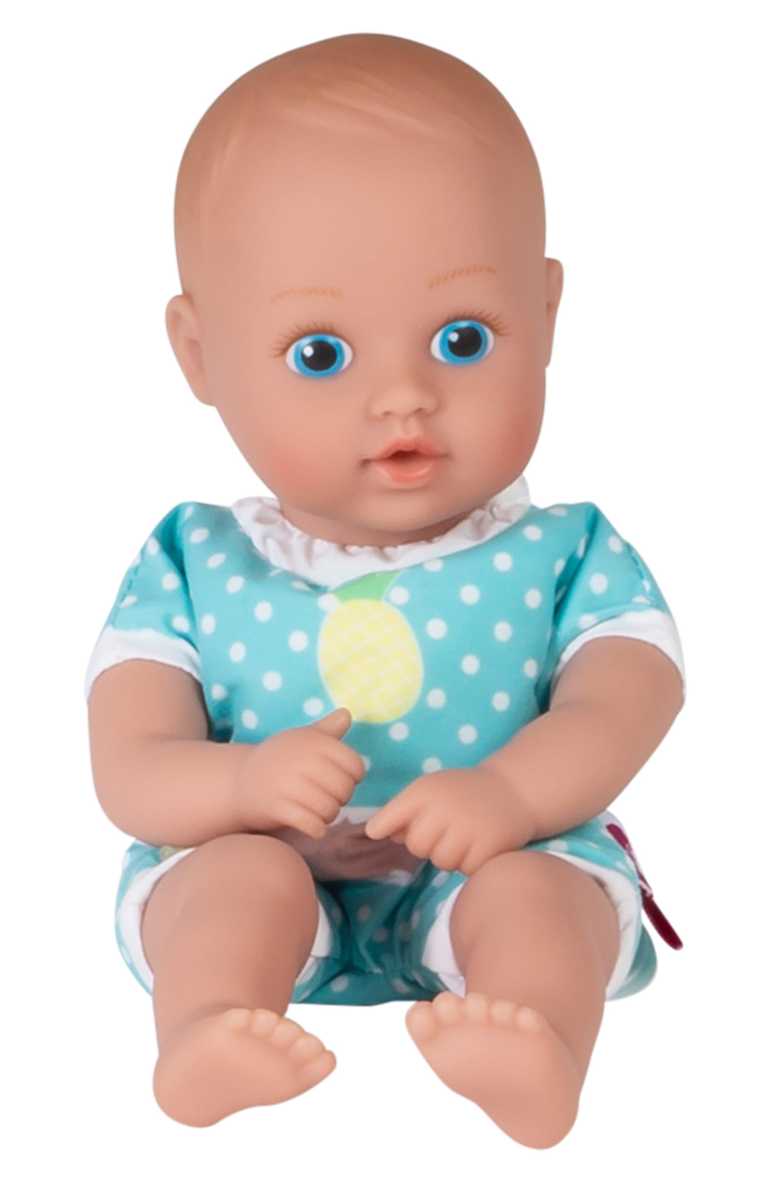 ADORA, Sweet Pineapple Splashtime Baby Doll, Alternate thumbnail 4, color, YELLOW