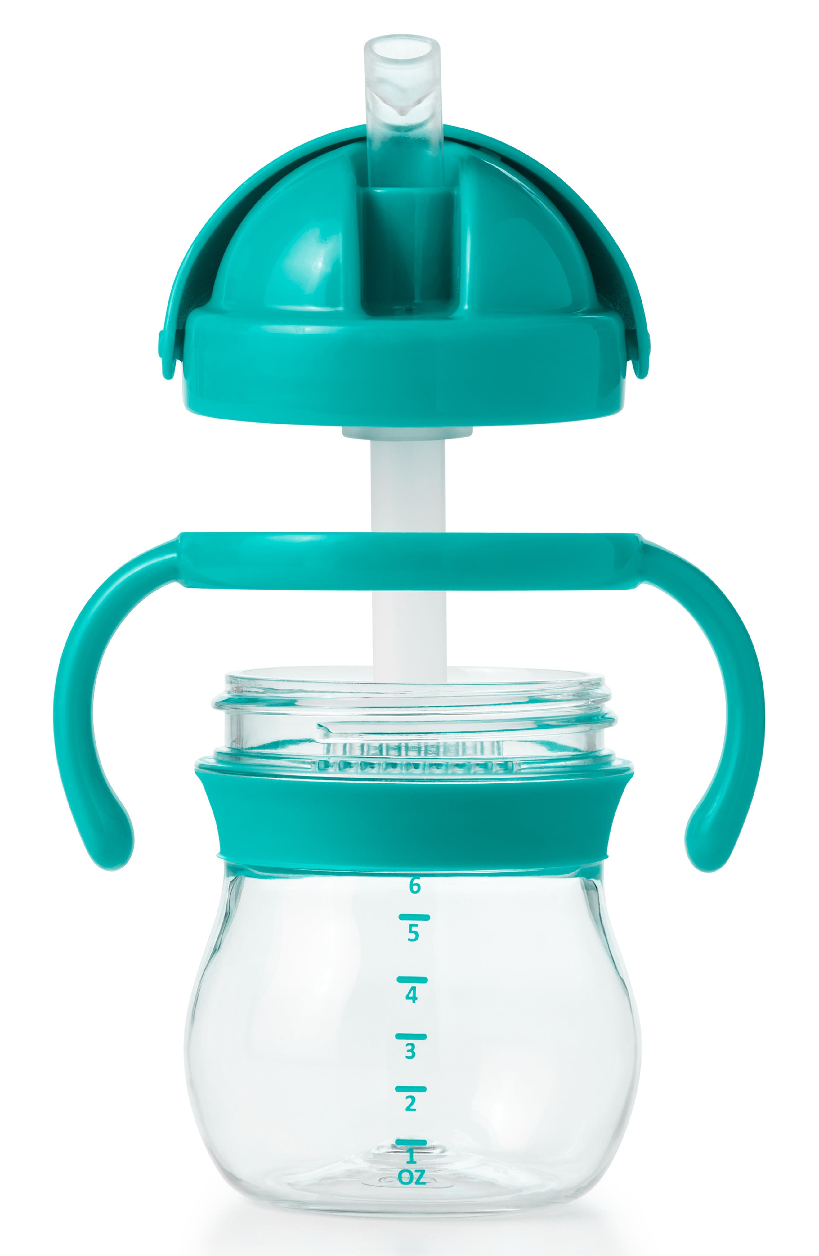 Infant Oxo Tot Transitions Straw Cup With Handles Size One Size  Bluegreen