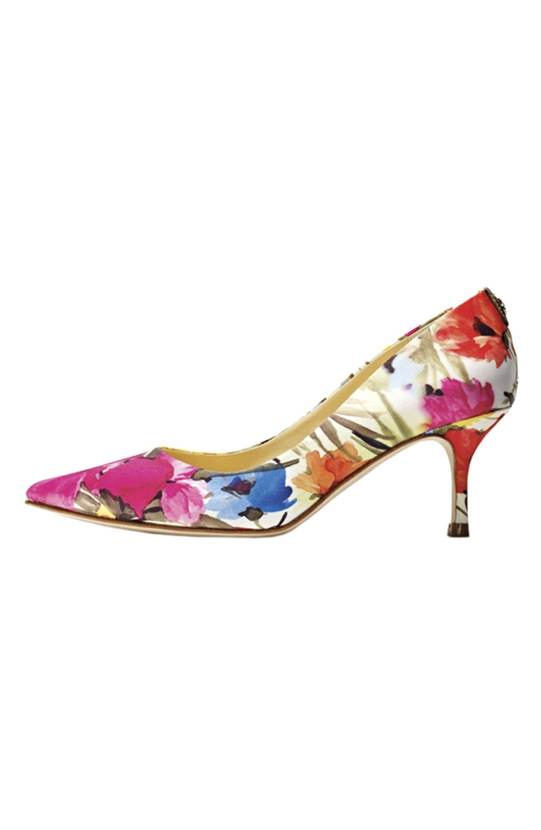 IVANKA TRUMP, 'Indico' Pump, Alternate thumbnail 3, color, 141