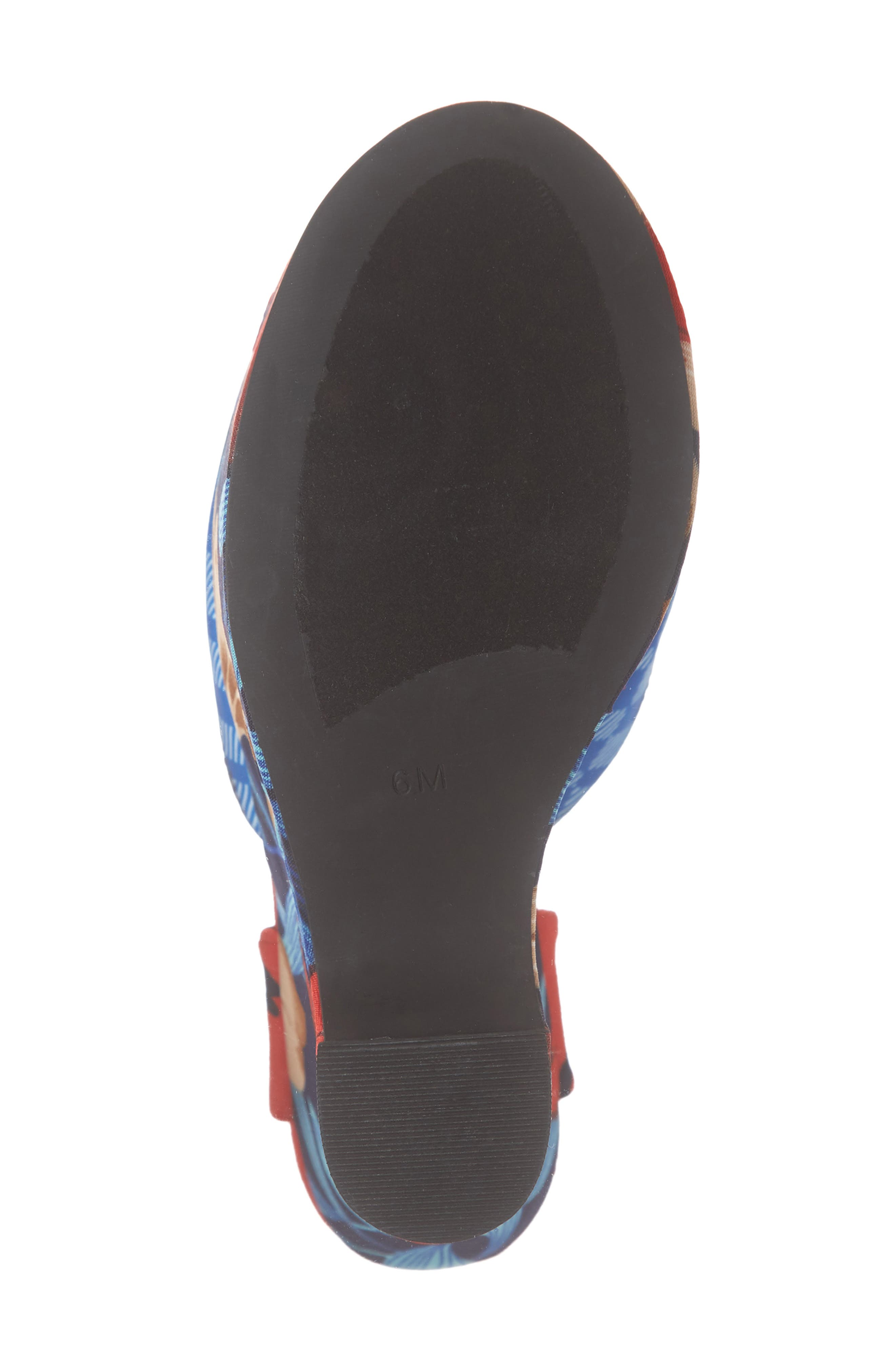 JEFFREY CAMPBELL, Kendra Platform Wedge Sandal, Alternate thumbnail 6, color, 642