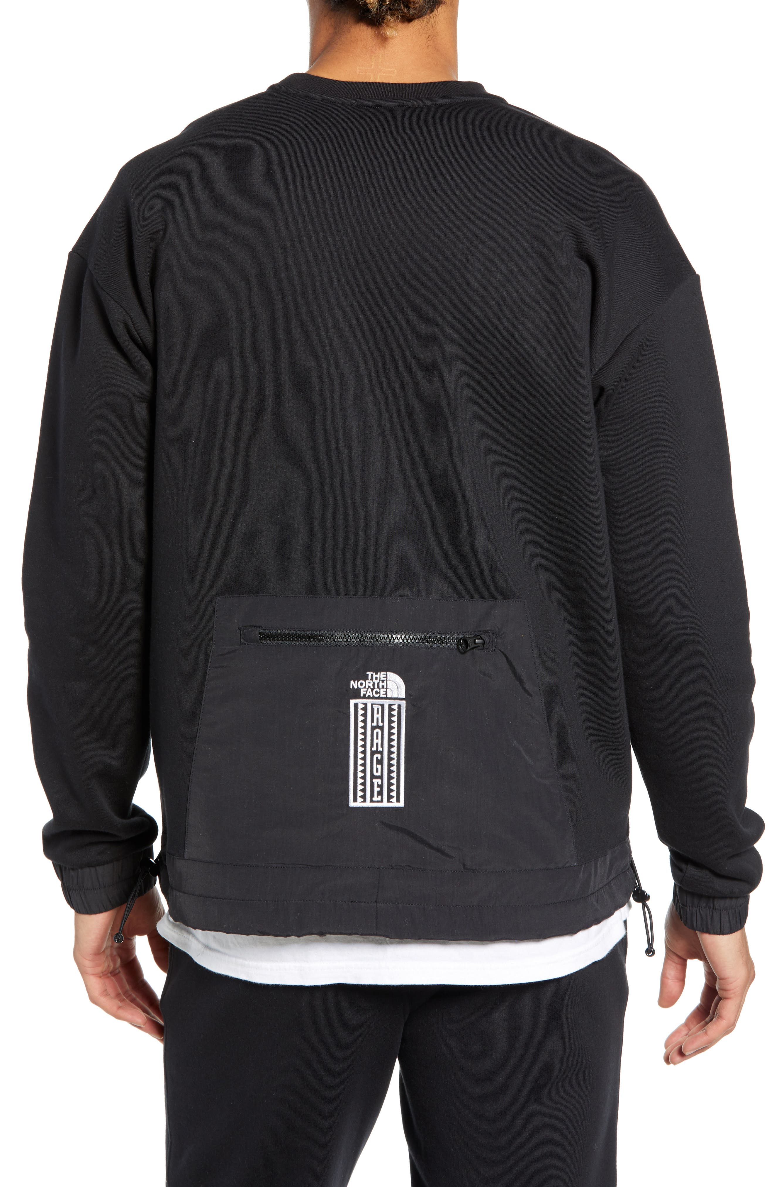 THE NORTH FACE, 1992 Rage Collection Sweatshirt, Alternate thumbnail 2, color, 001